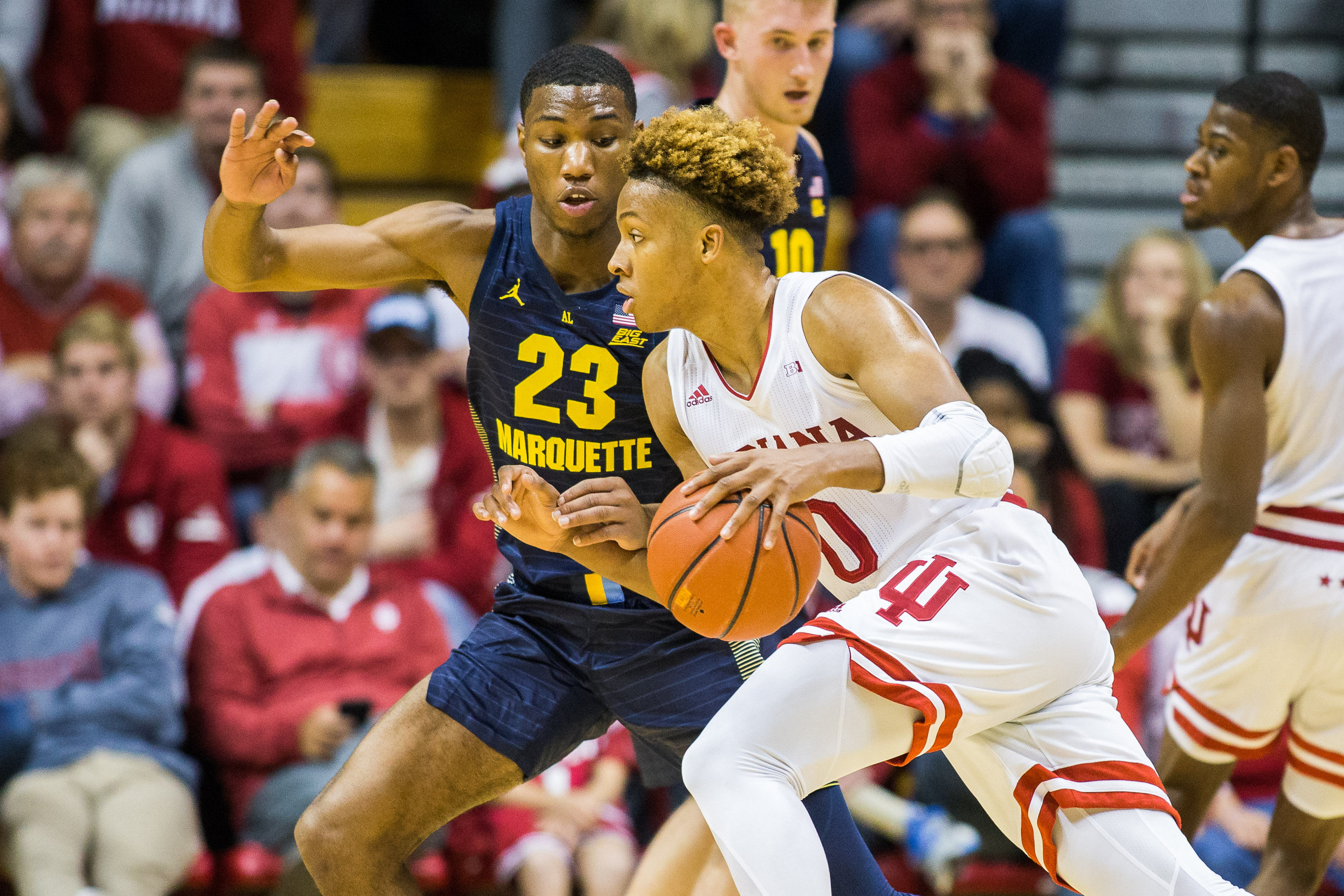 NCAA Basketball: Marquette at Indiana