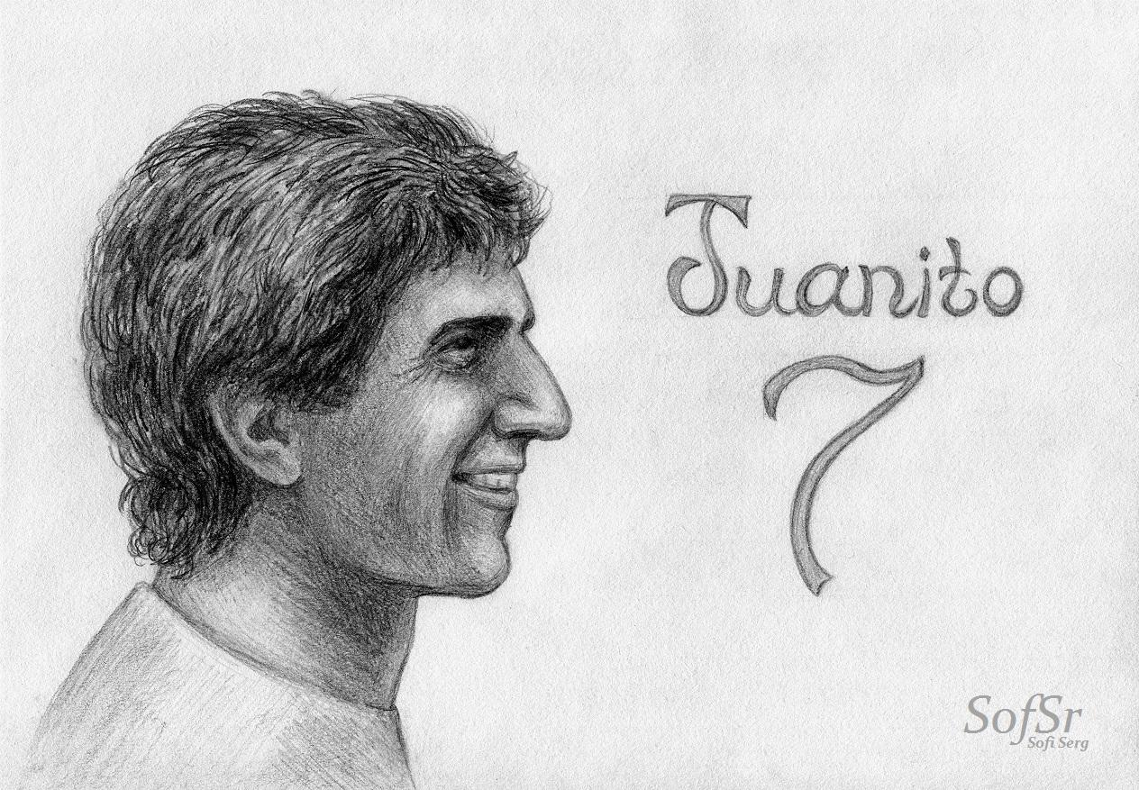 Juanito Maravilla. Illustration by Sofi Serg.