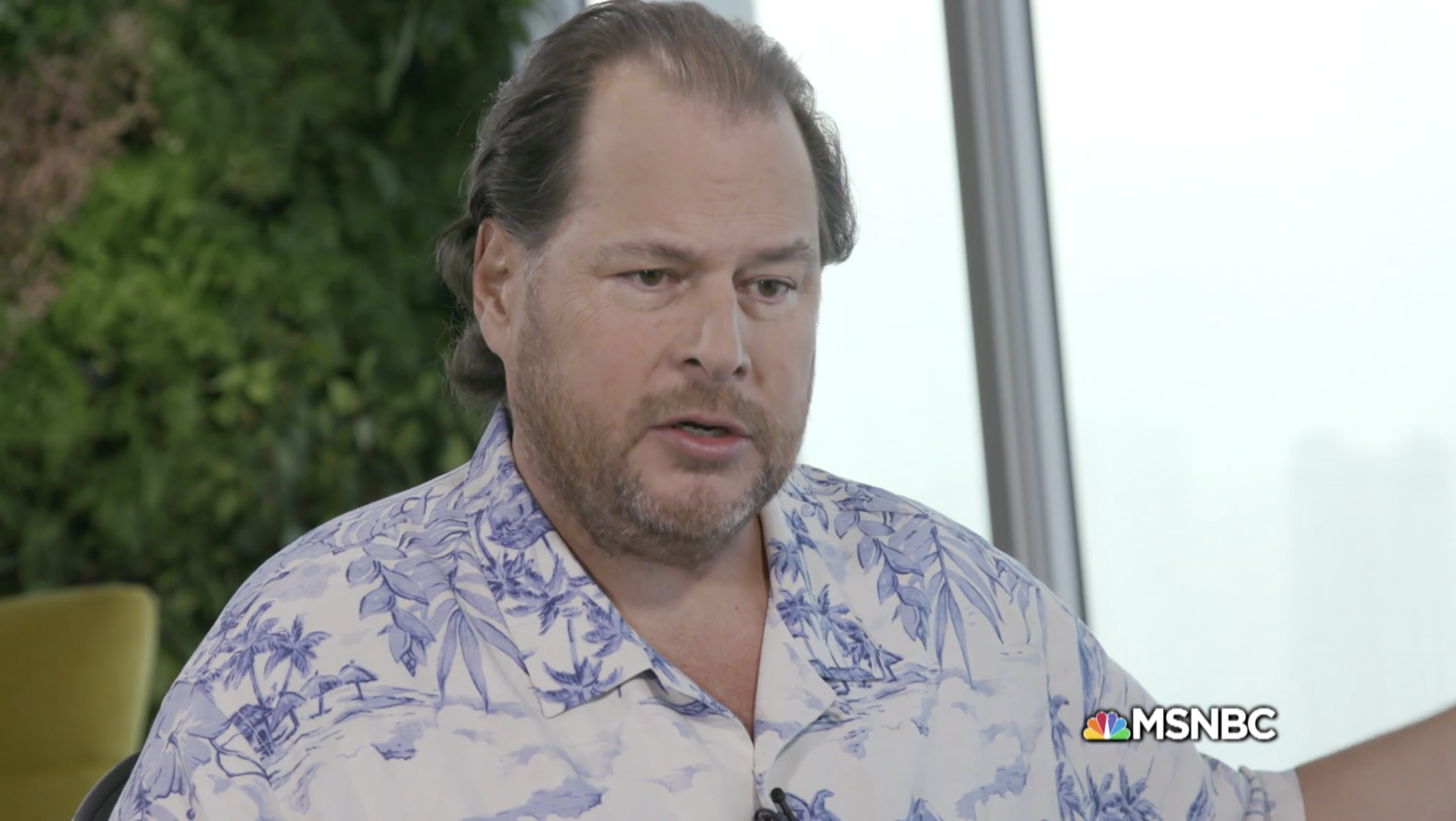 Marc Benioff defends Salesforce's contract with Customs and Border Protection