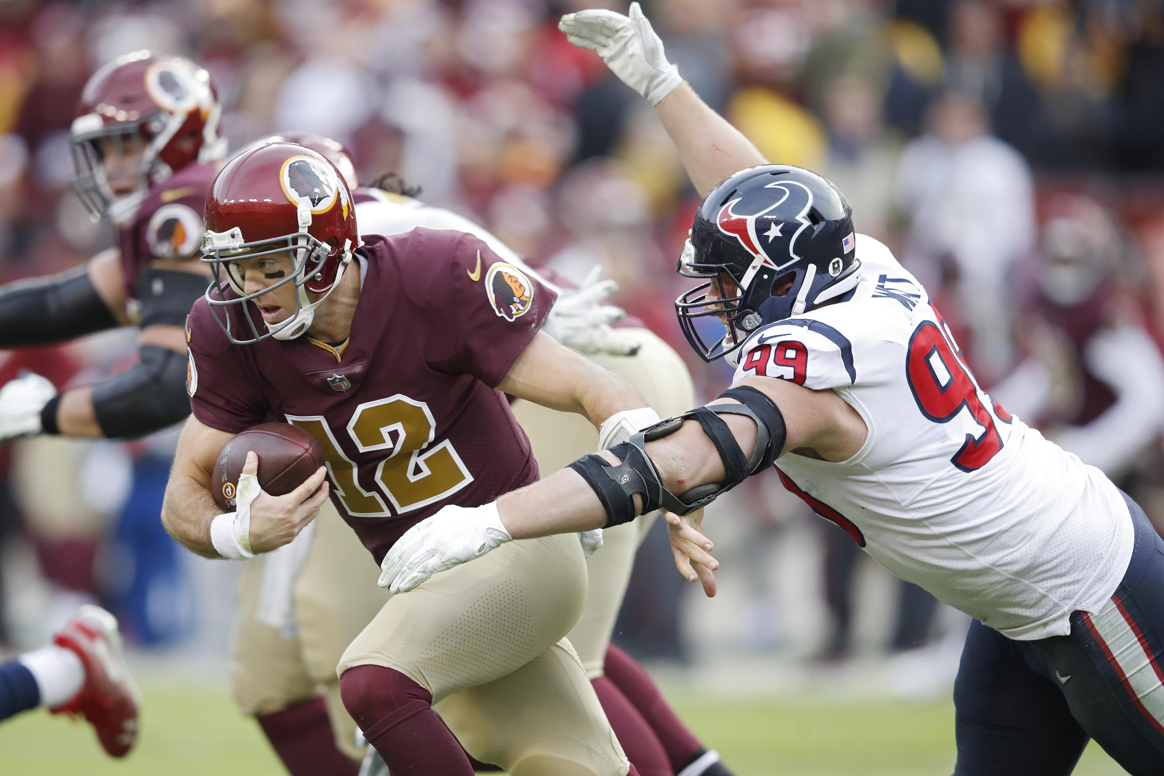 Houston Texans v Washington Redskins