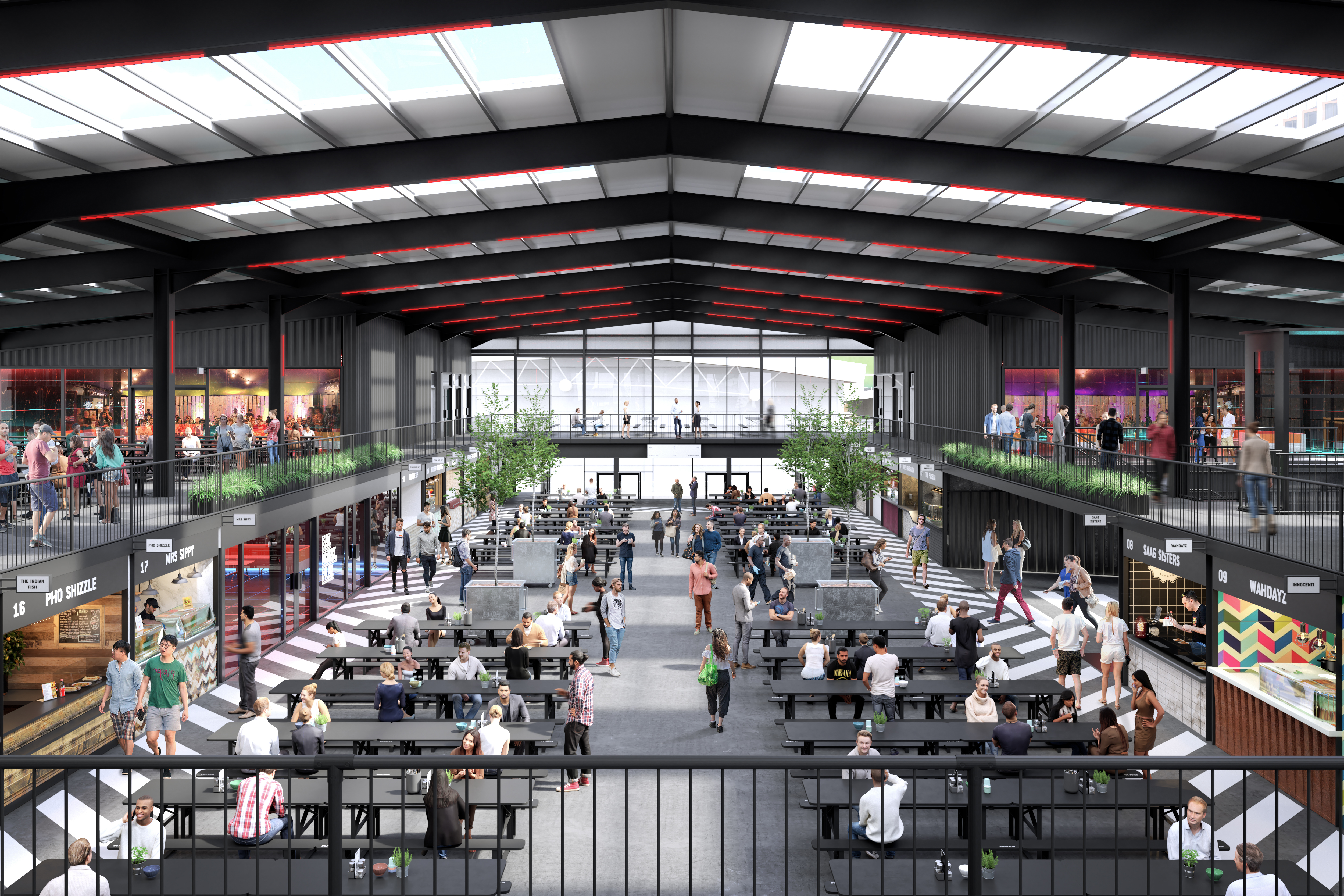 Boxpark Wembley has announced its street food restaurants going into shipping containers, following Boxpark Shoreditch and Boxpark Croydon