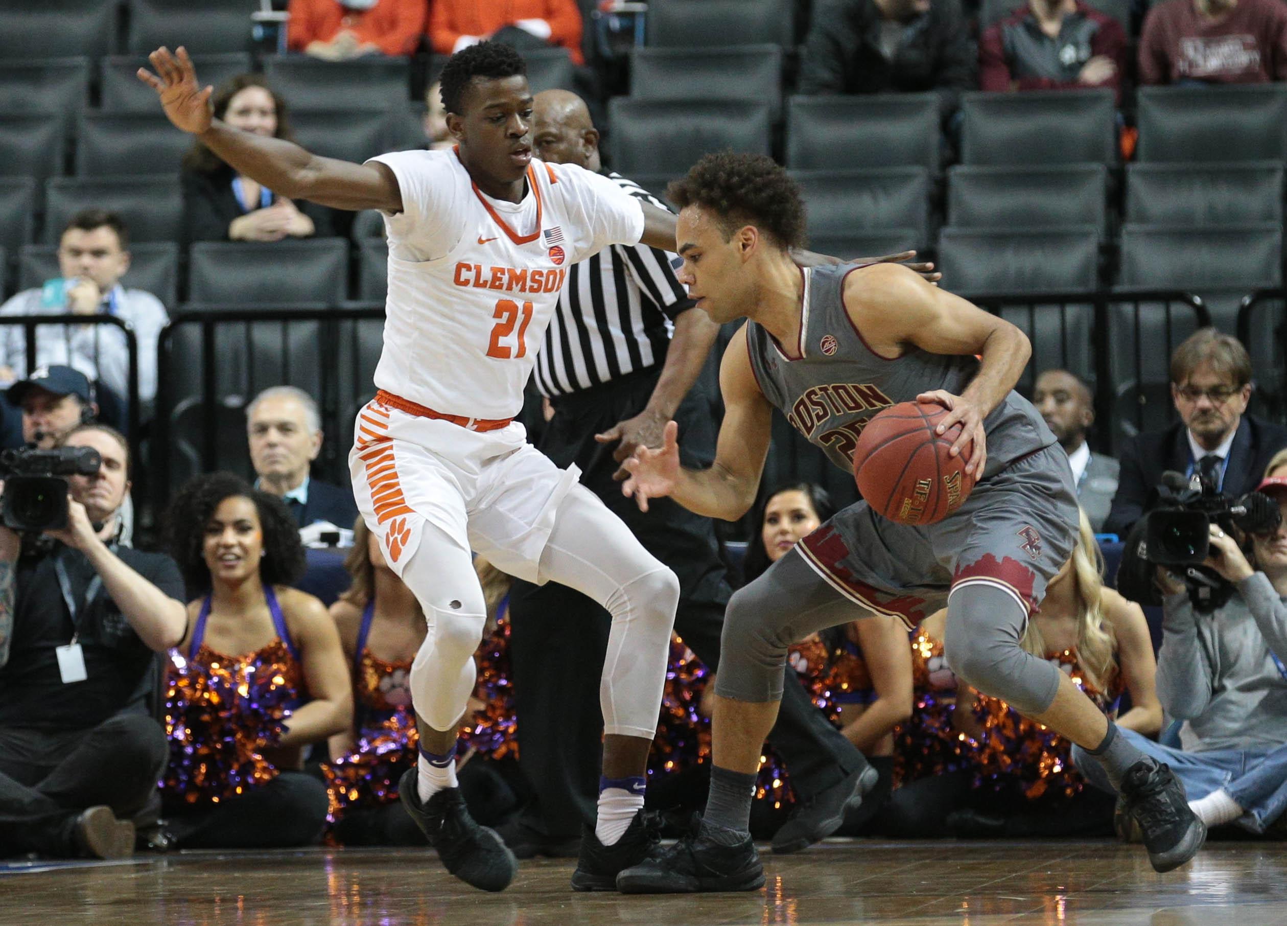 NCAA Basketball: ACC Conference Tournament-Clemson vs Boston College