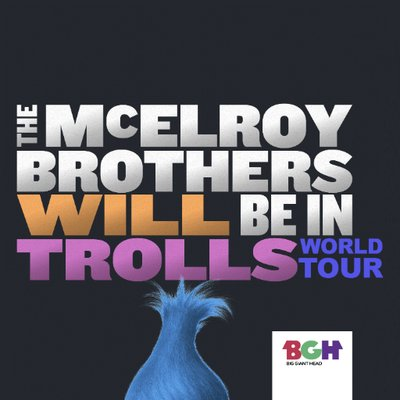 The McElroy Brothers Will Be In Trolls World Tour