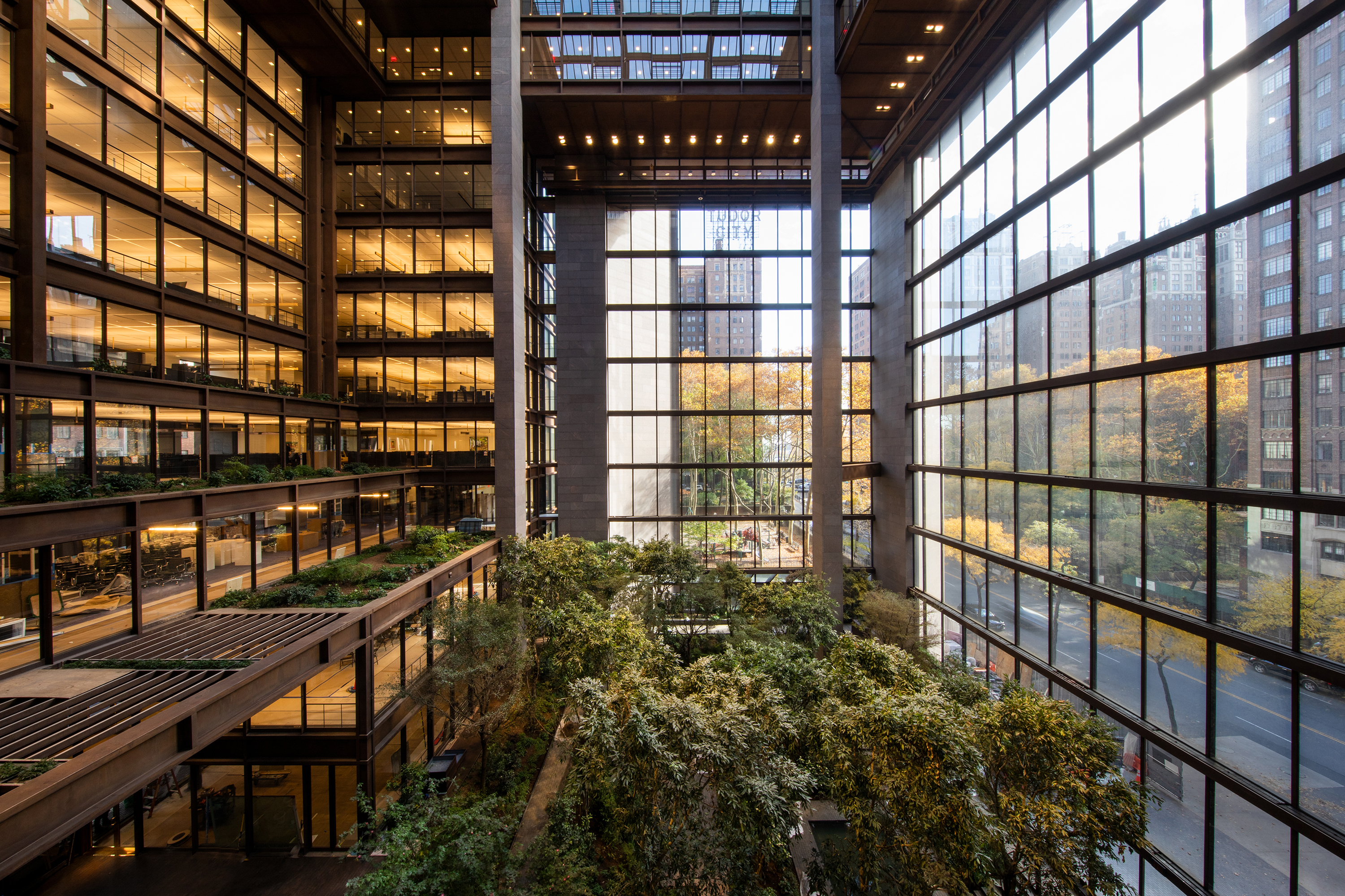 Ford Foundation building renovation in New York