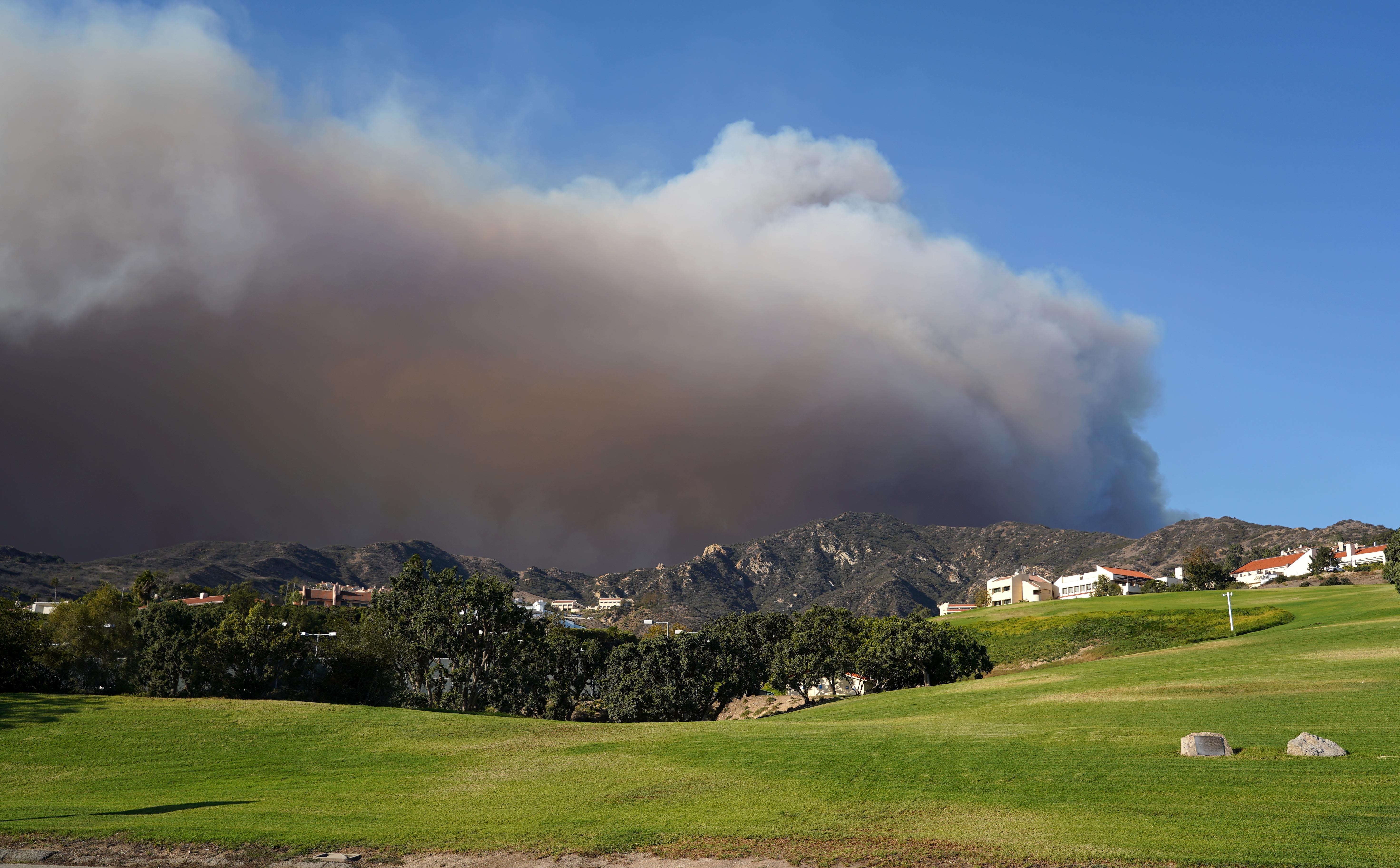 Why Pepperdine stays put when wildfires rage