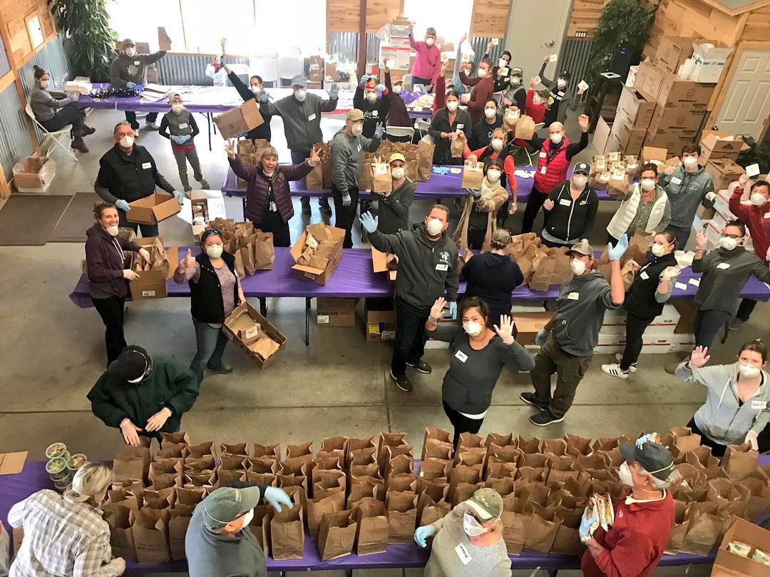 NorCal Food Community Brings Thanksgiving Dinner to Camp Fire Survivors