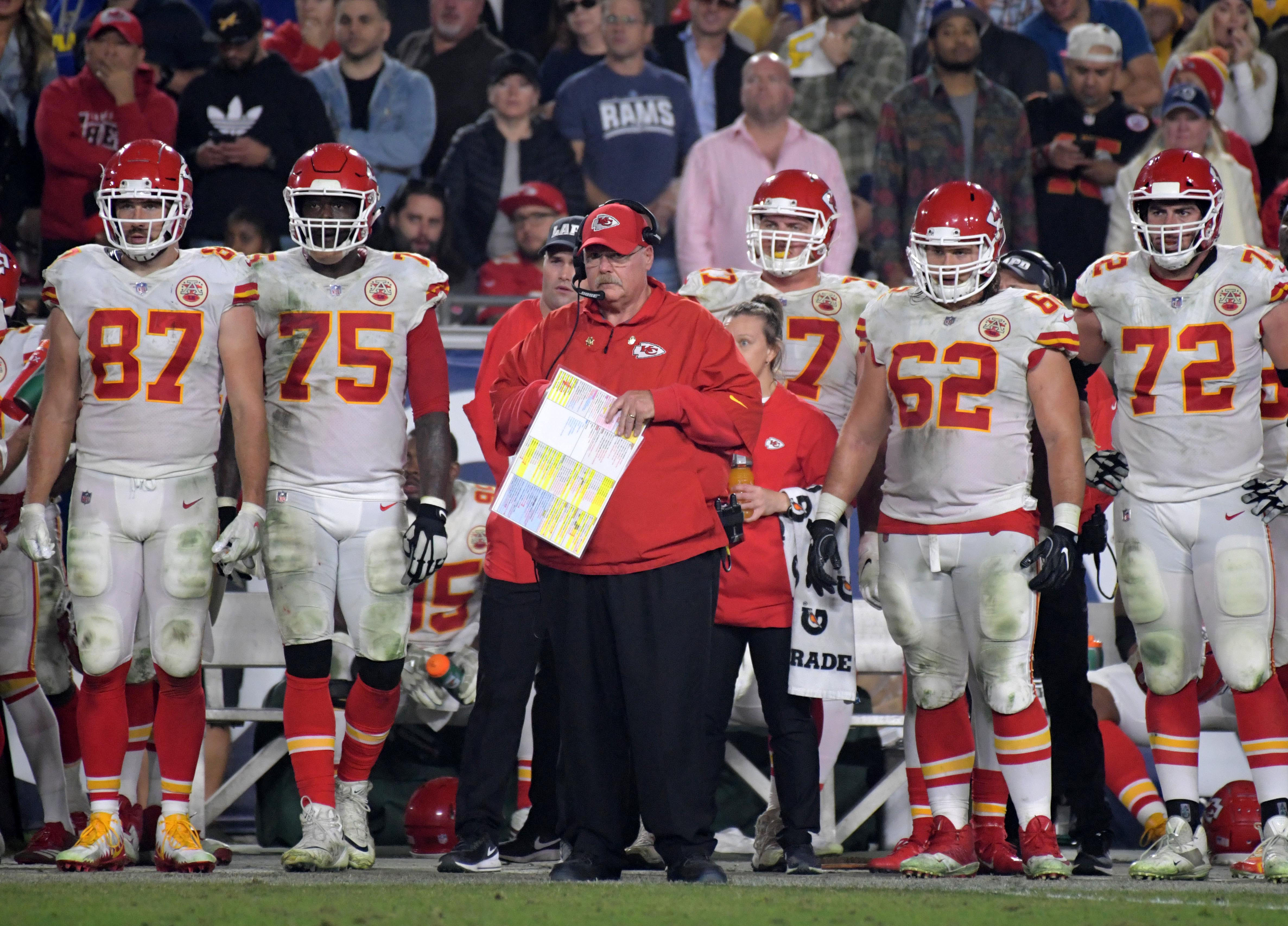 NFL: Kansas City Chiefs at Los Angeles Rams