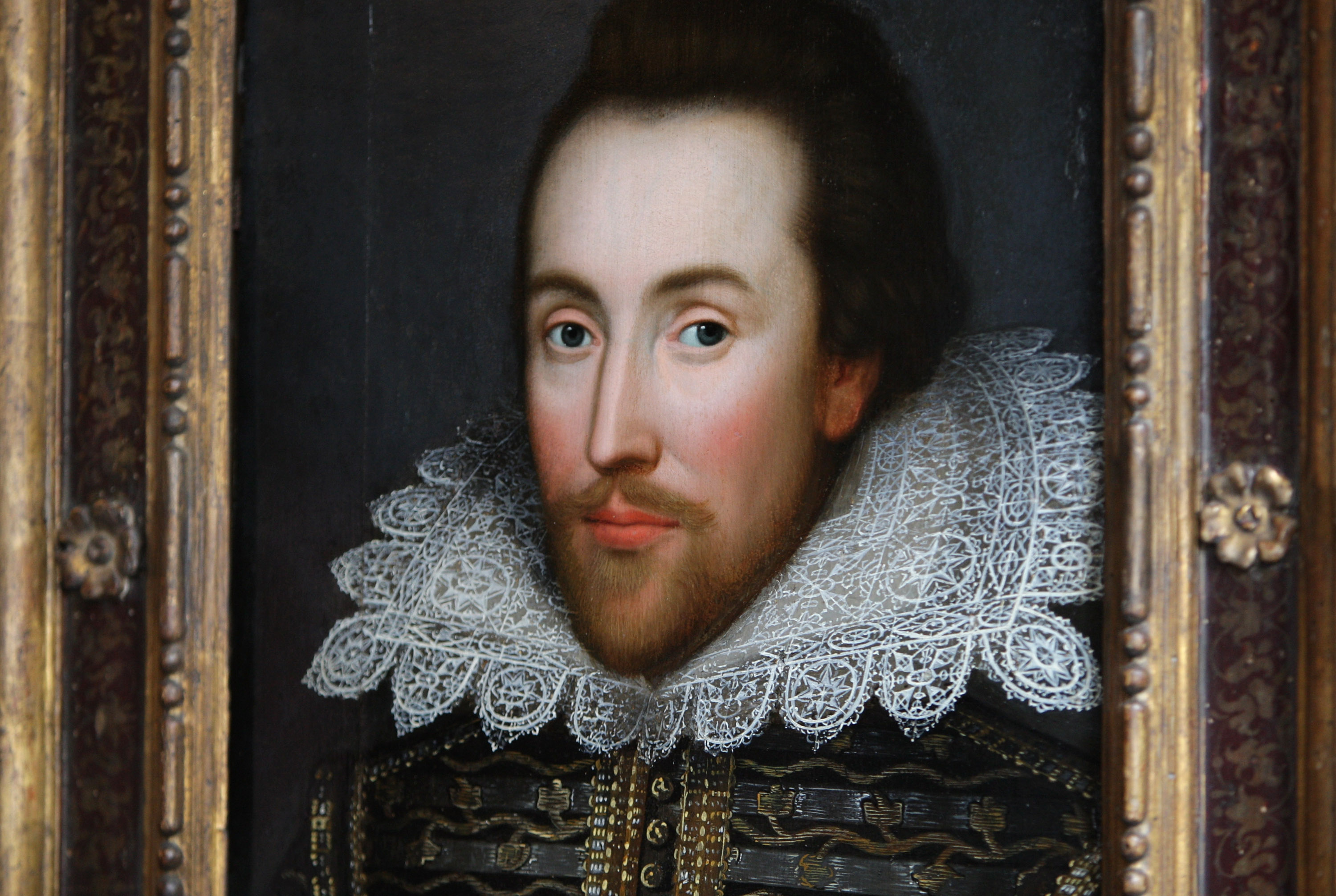 Newly Identified Portrait Of William Shakespeare Is Unveiled