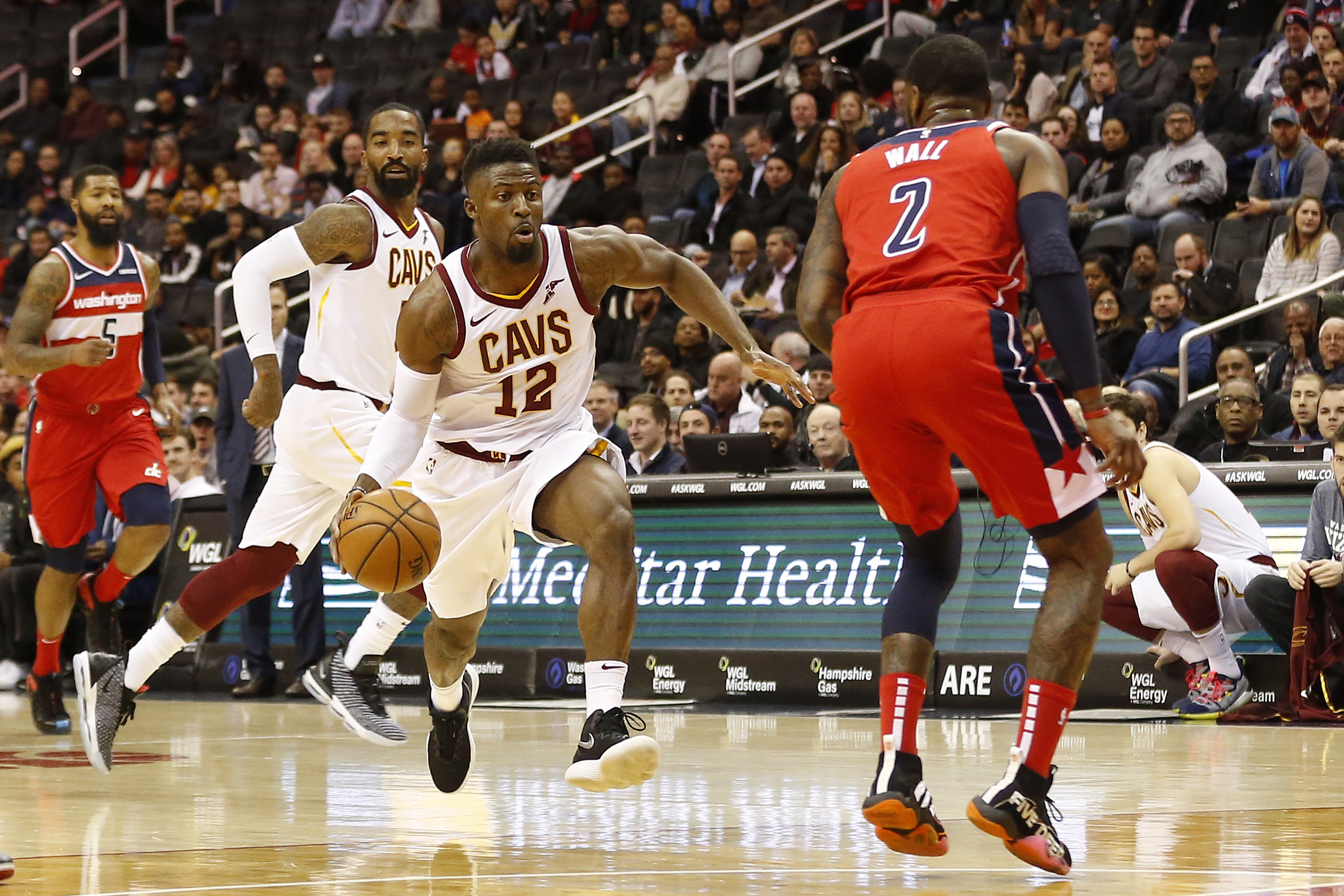 buy popular 75ccb ea5b9 David Nwaba to start in place of Larry Nance Jr. - Fear The ...