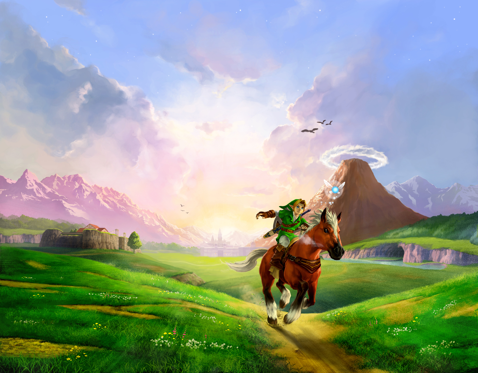 Zelda: Ocarina of Time's Hyrule Field changed how we think about game worlds