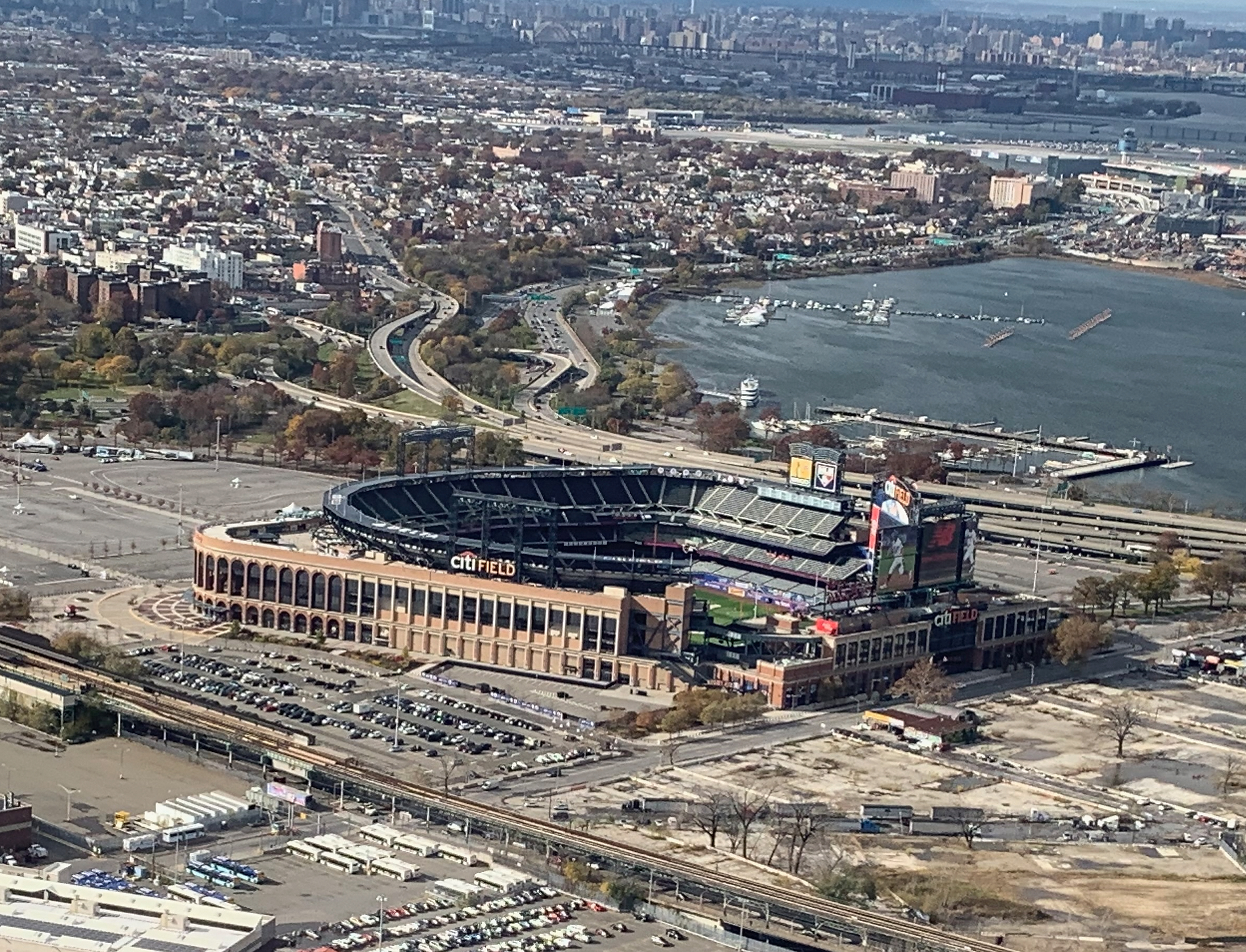 Aerial Views of the New York Area