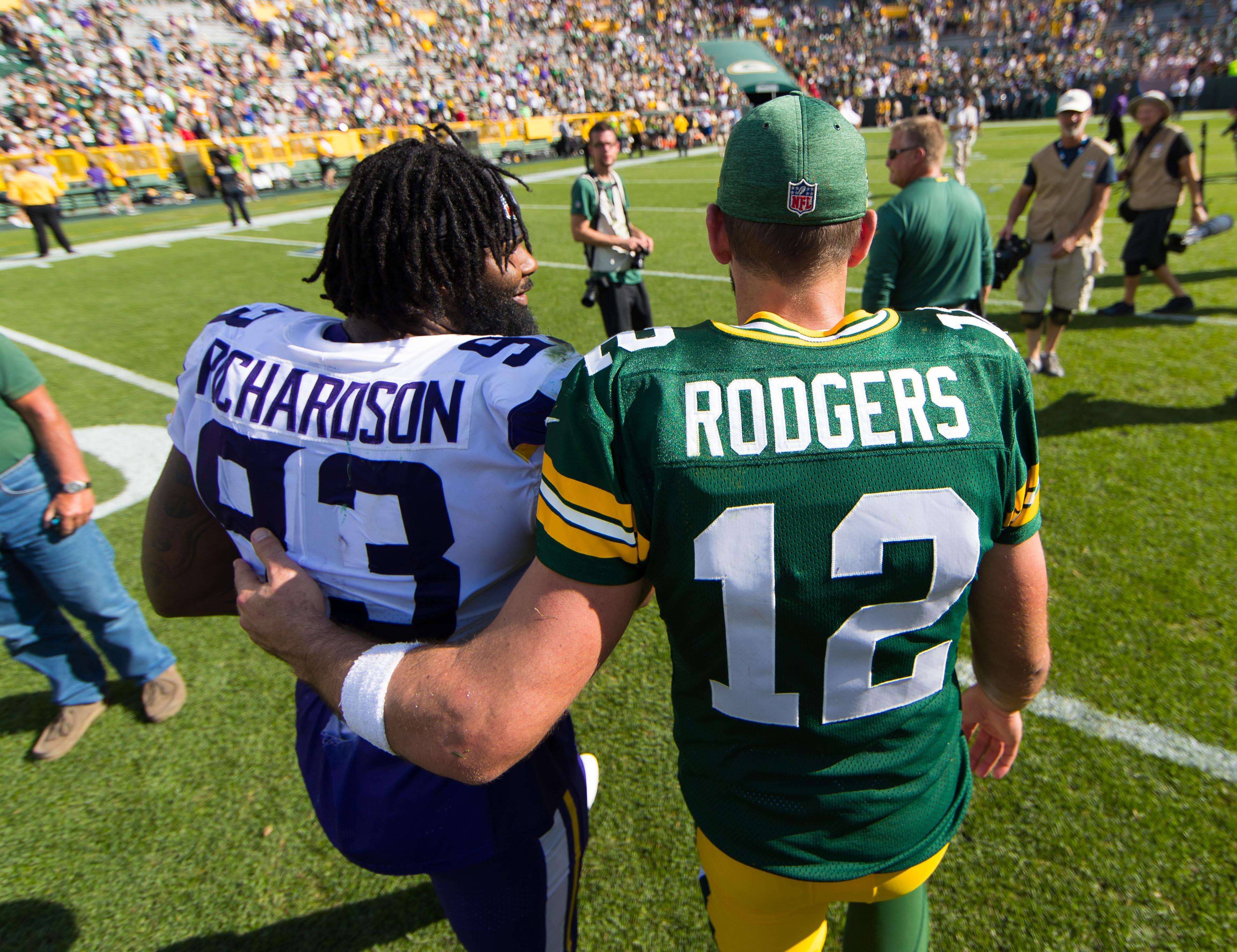 NFL: Minnesota Vikings at Green Bay Packers