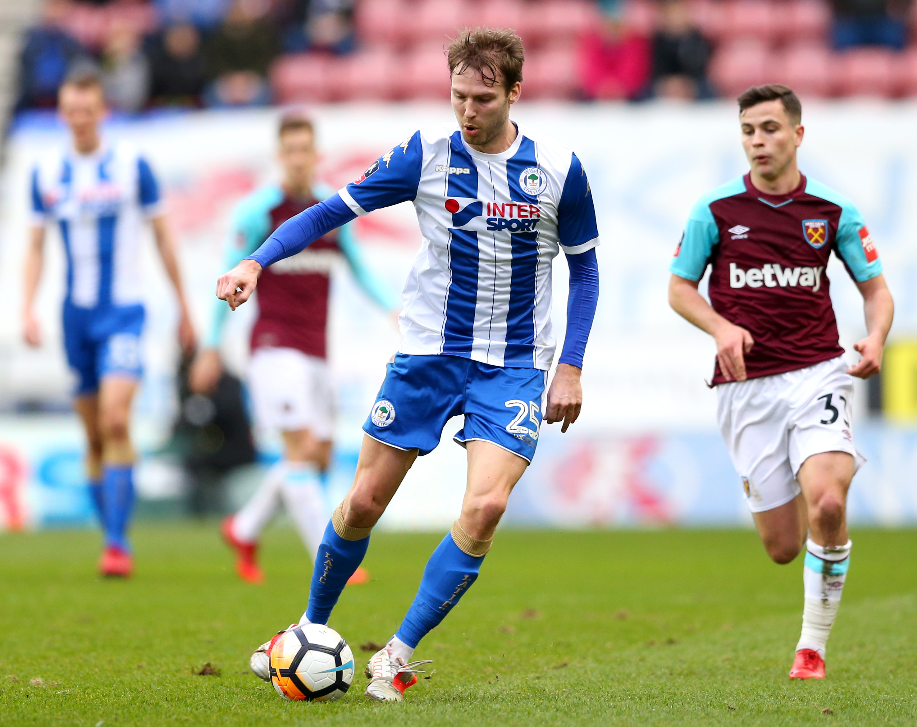 Wigan Athletic v West Ham United - The Emirates FA Cup Fourth Round