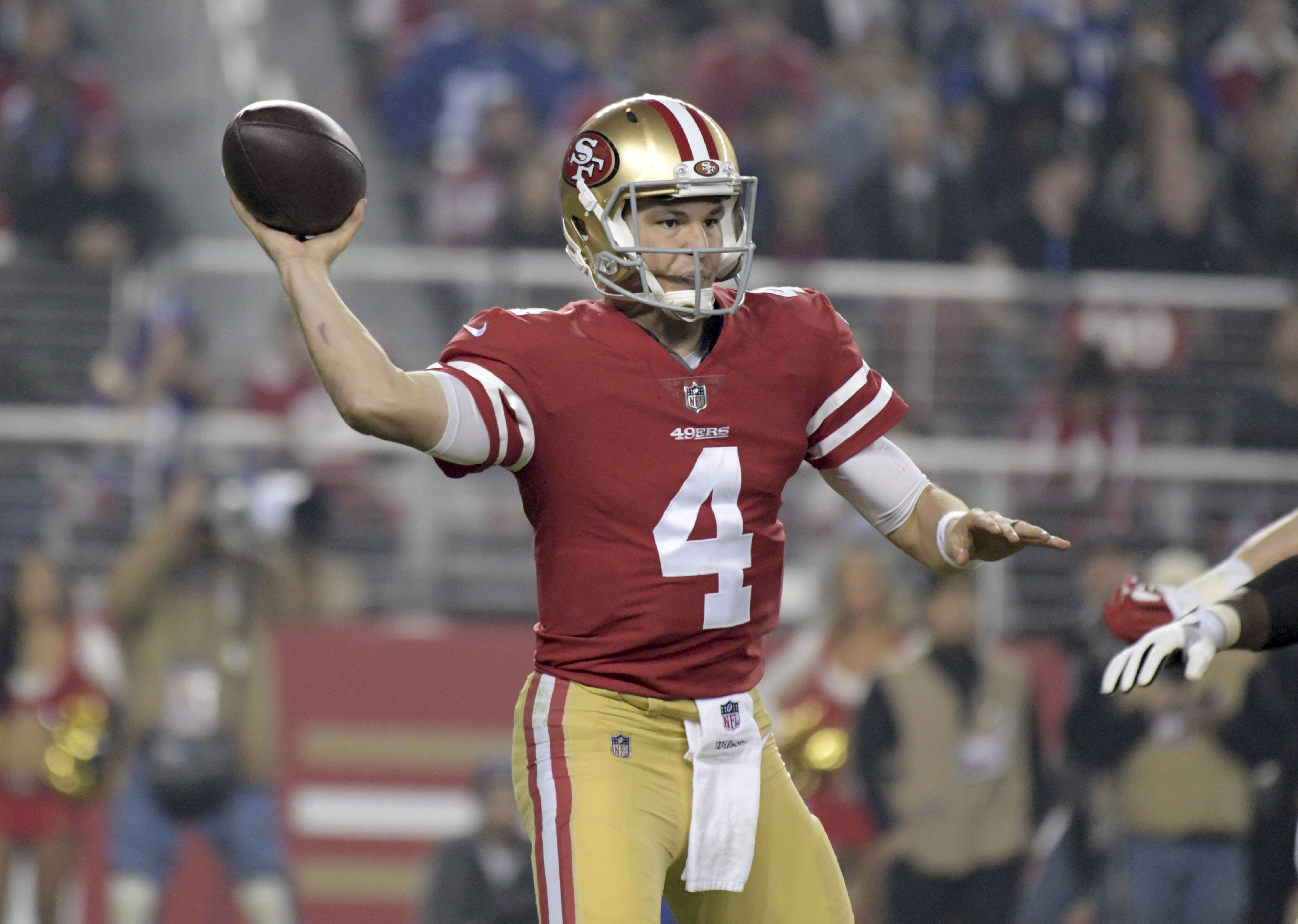 NFL: New York Giants at San Francisco 49ers