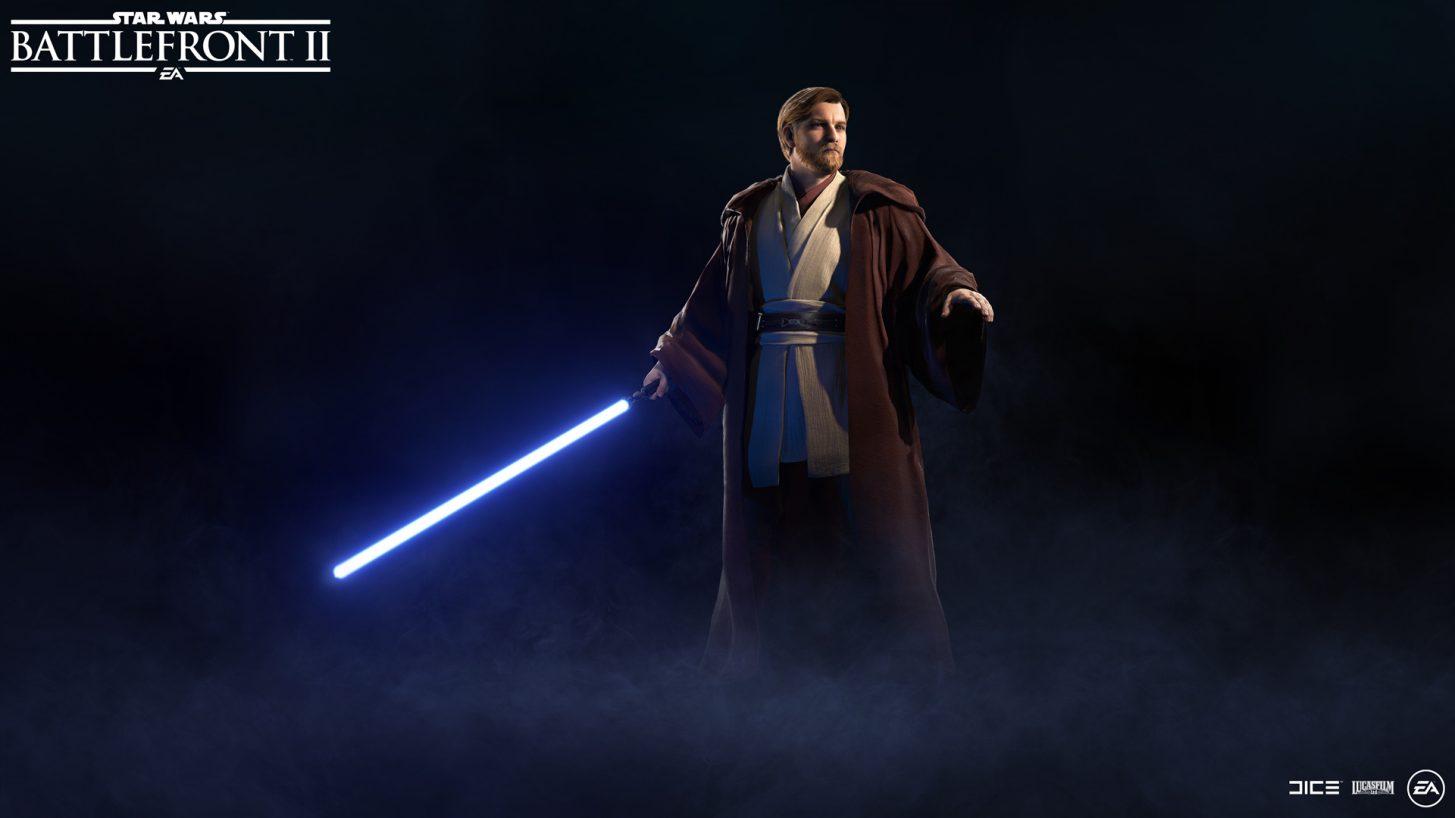 Obi-Wan Kenobi joins Battlefront 2's roster next week