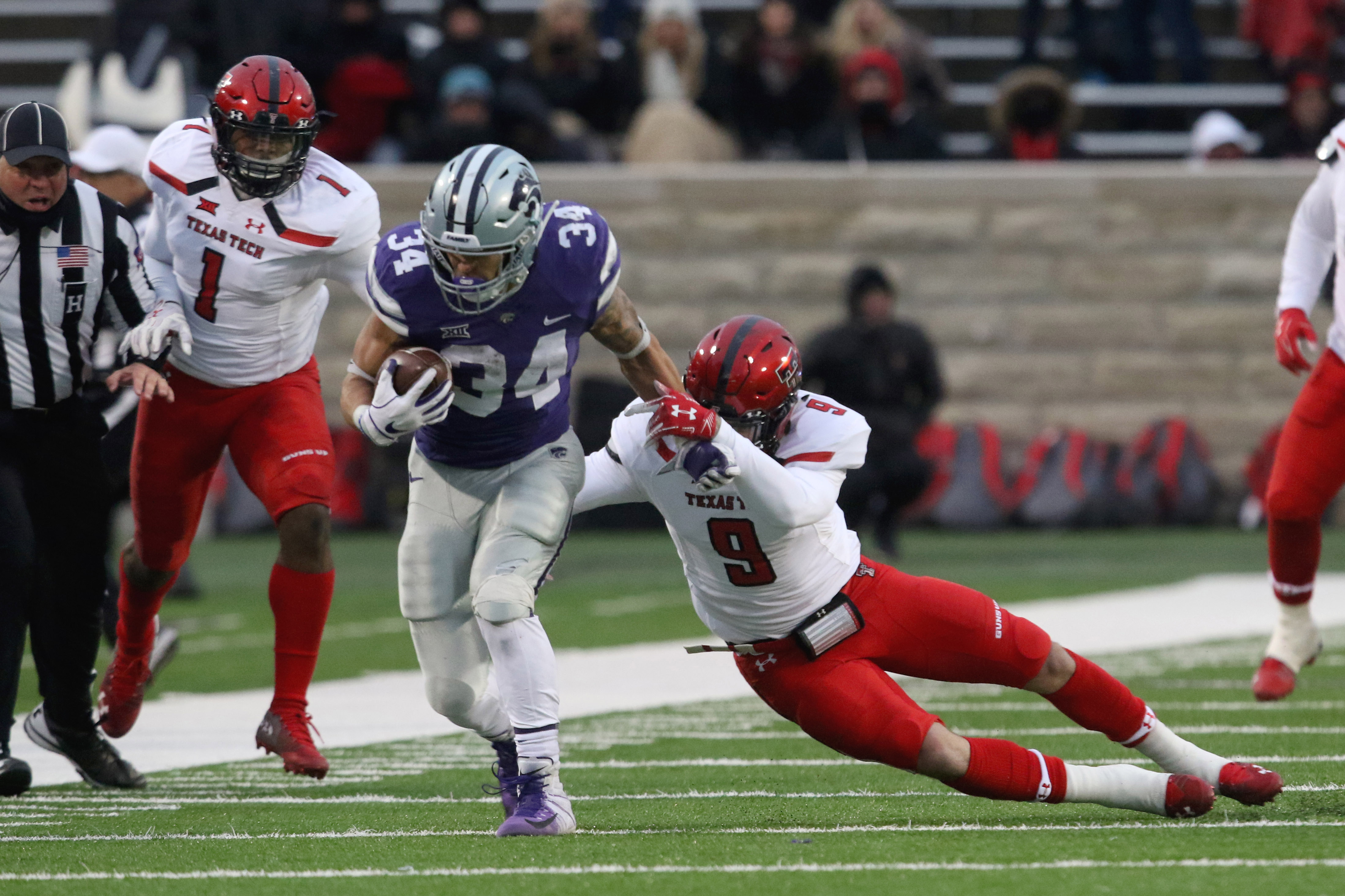 NCAA Football: Texas Tech at Kansas State