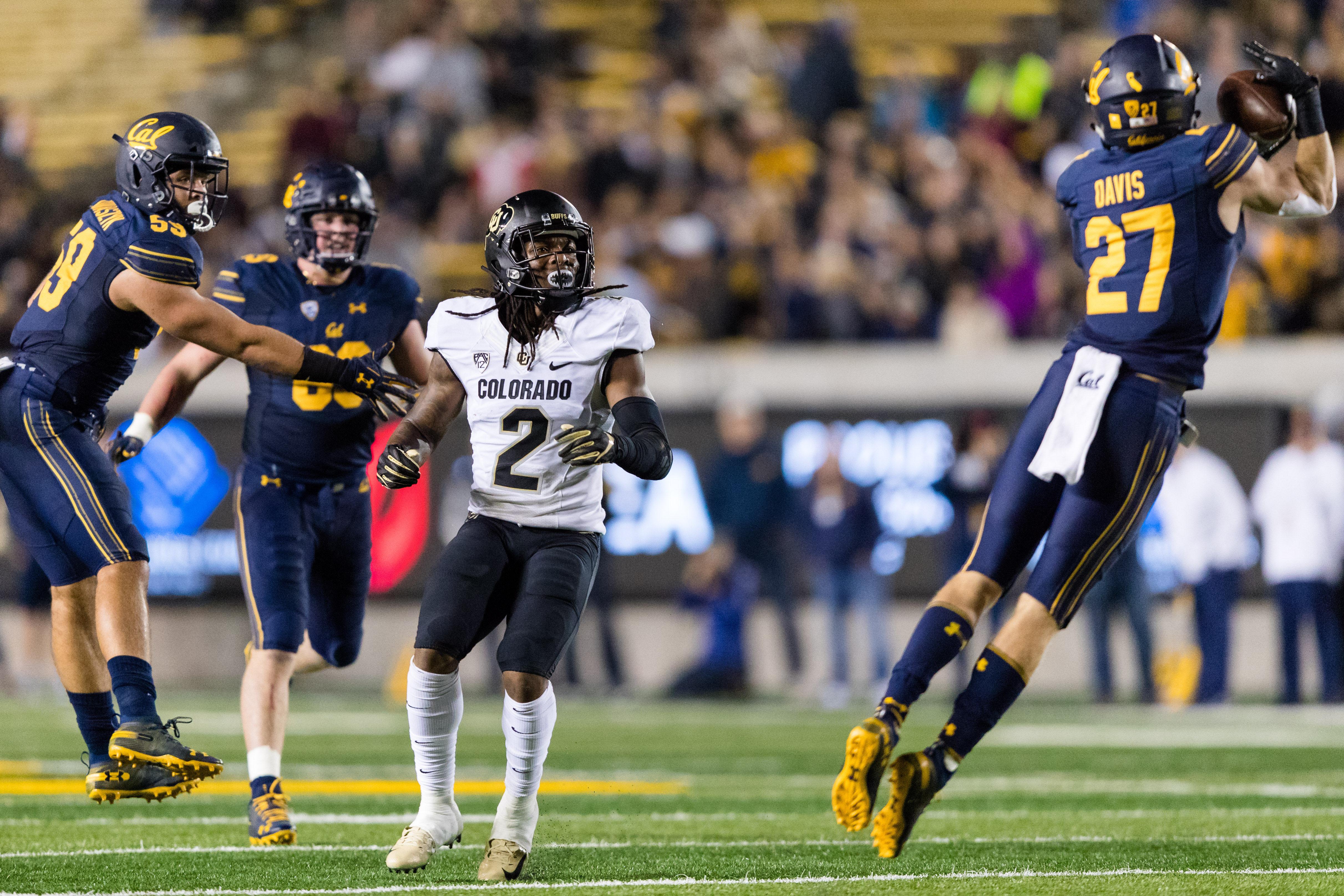 NCAA Football: Colorado at California