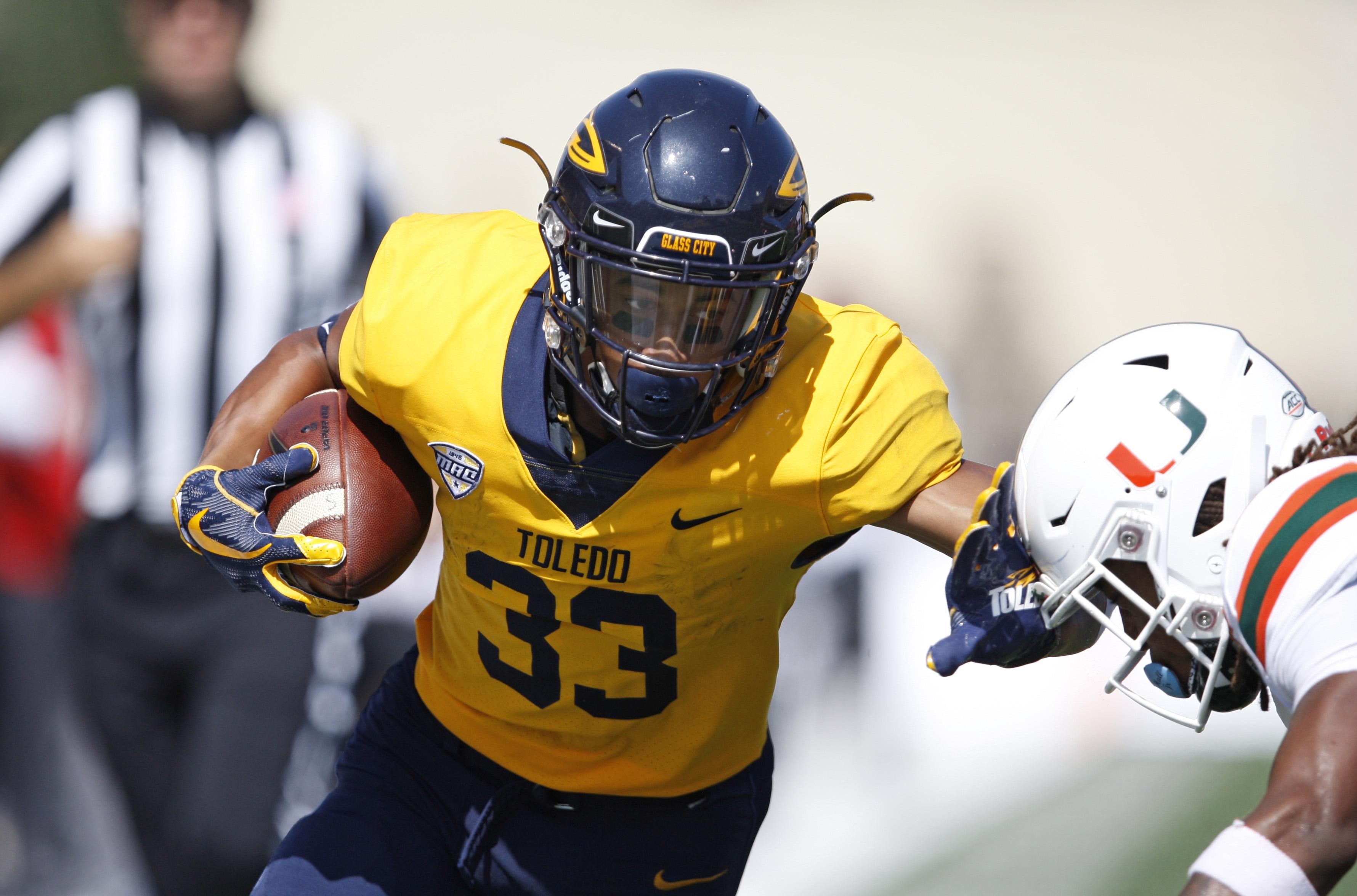 NCAA橄榄球赛:迈阿密在托莱多