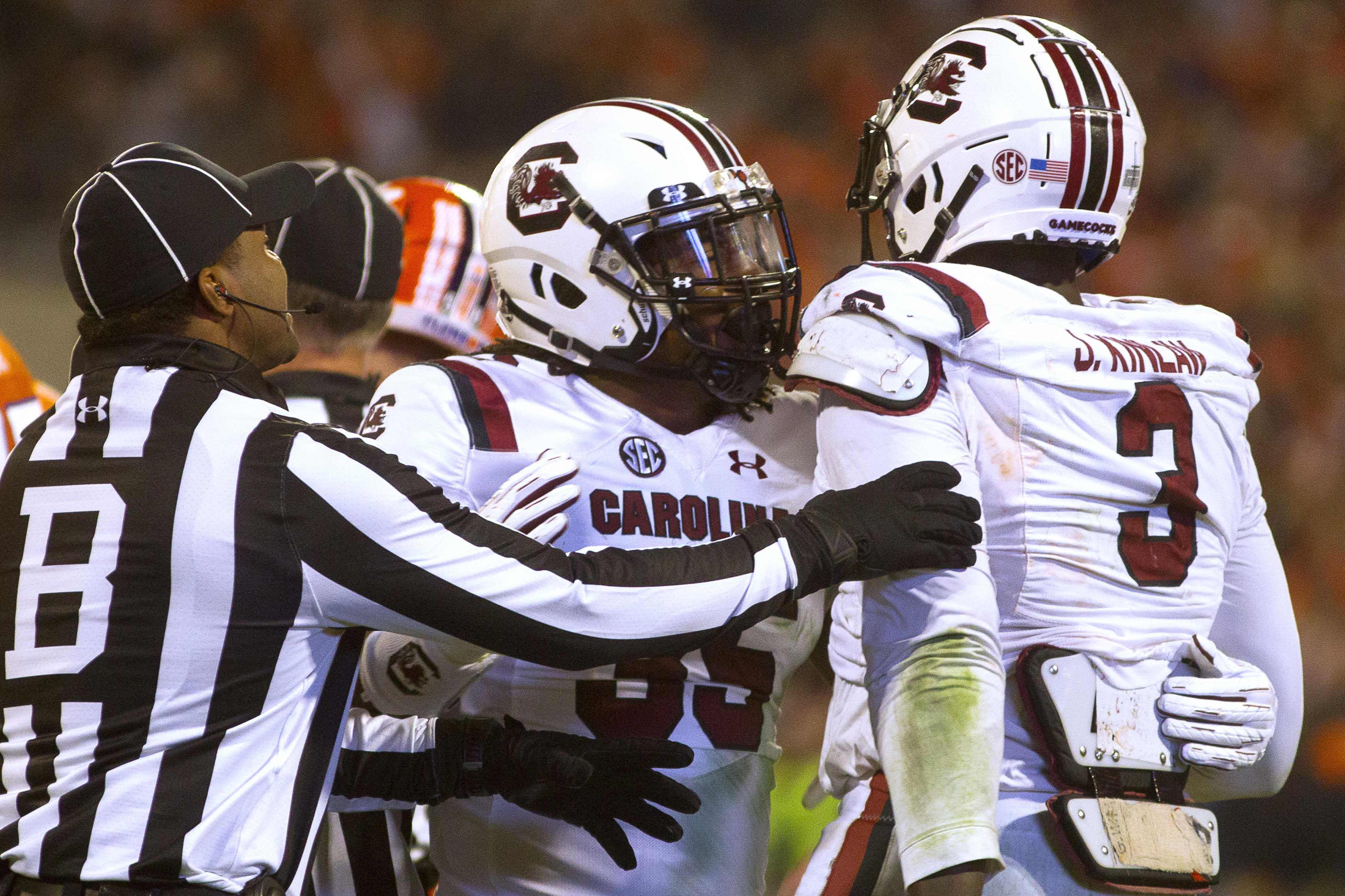 NCAA Football: South Carolina at Clemson
