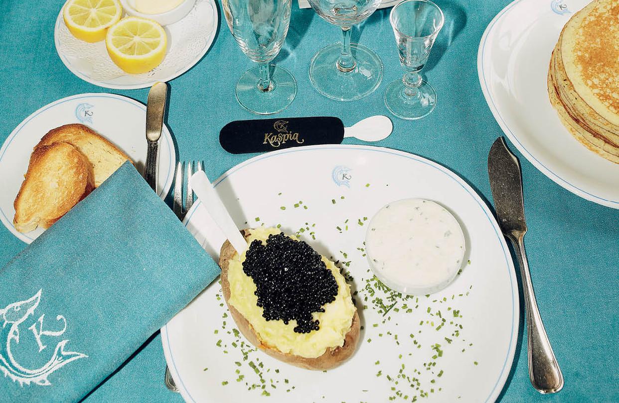 Caviar Kaspia caviar restaurant will open in Mayfair, London