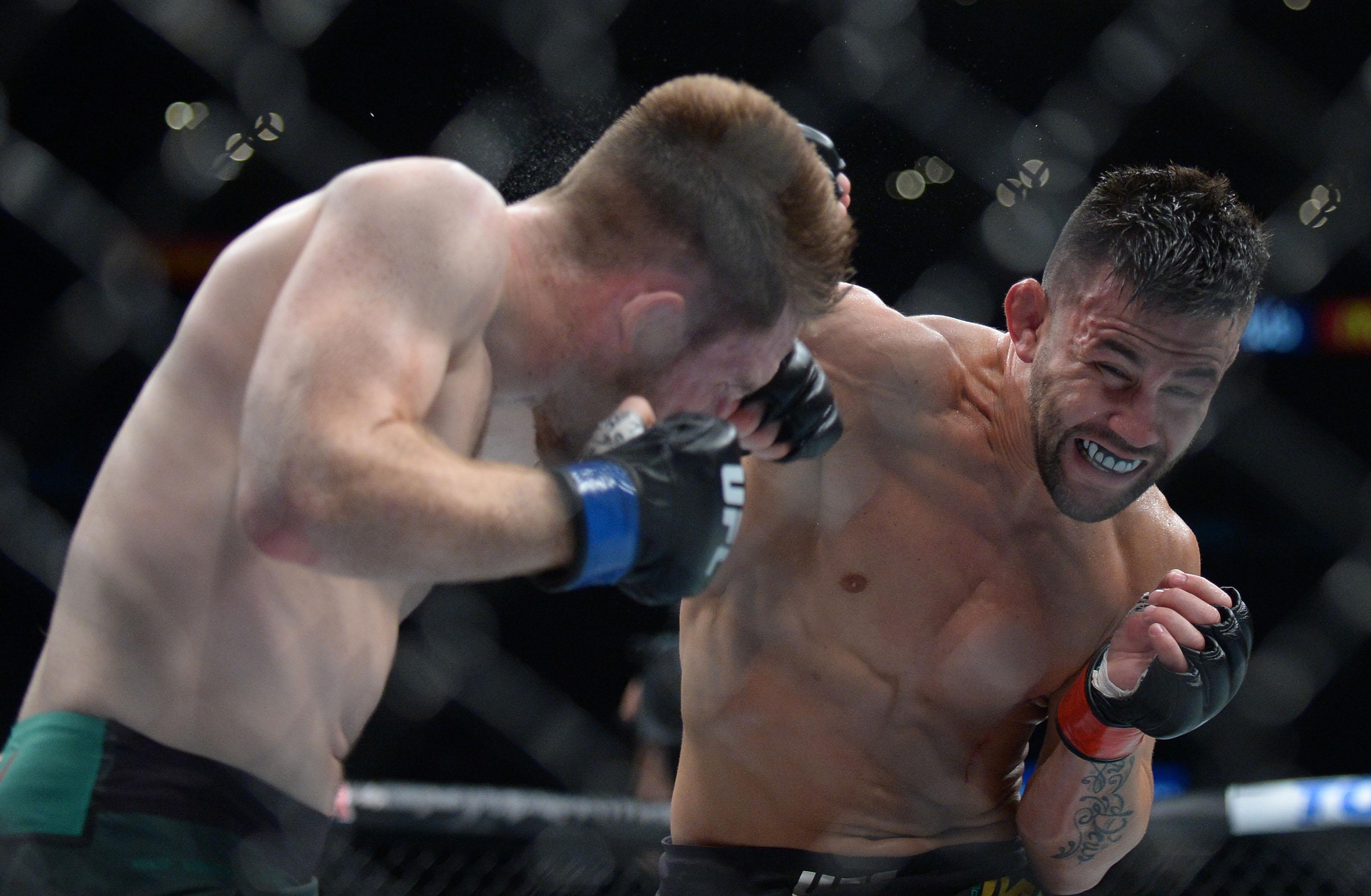 MMA: UFC 227-Munhoz vs Johns