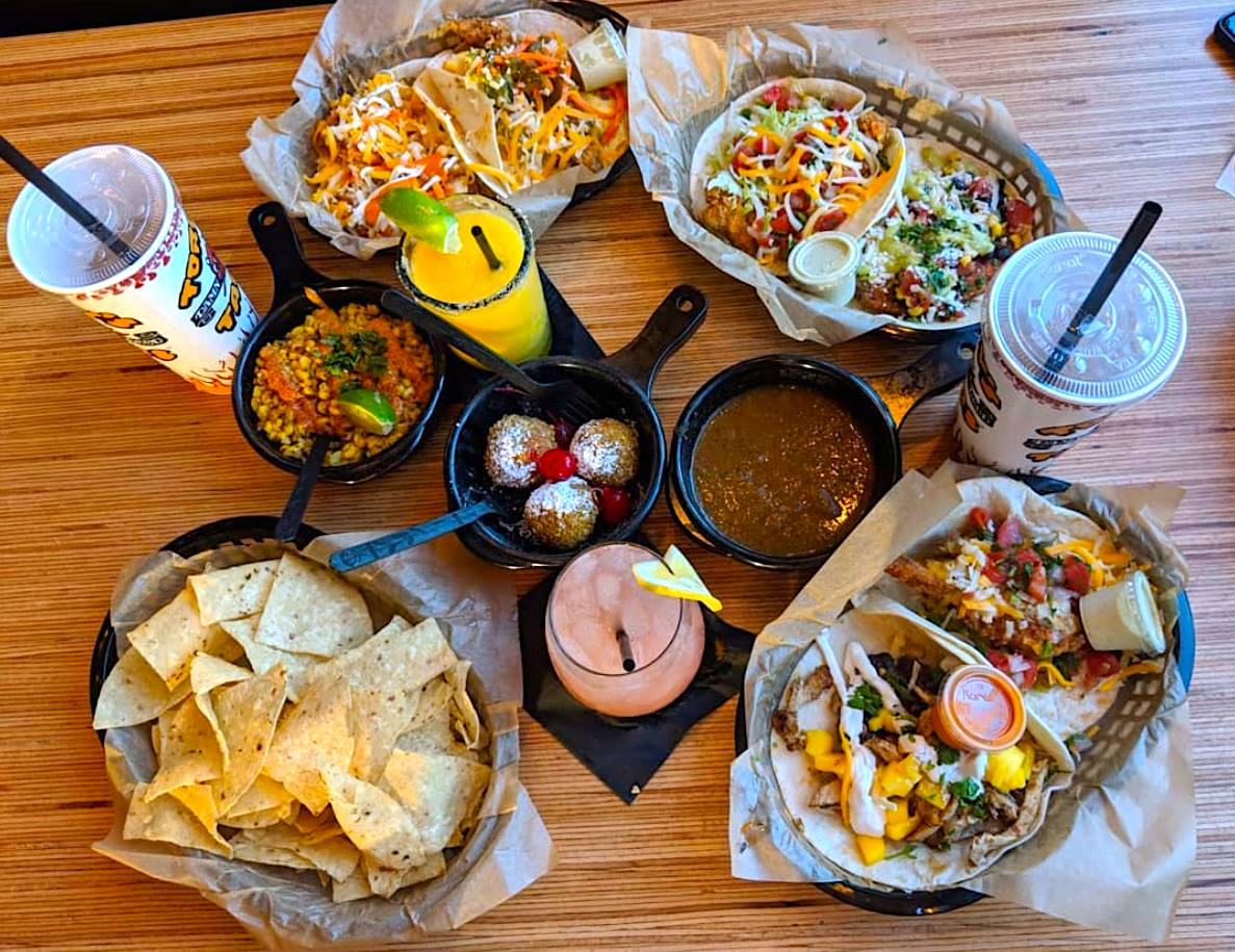 The array from Torchy's Tacos
