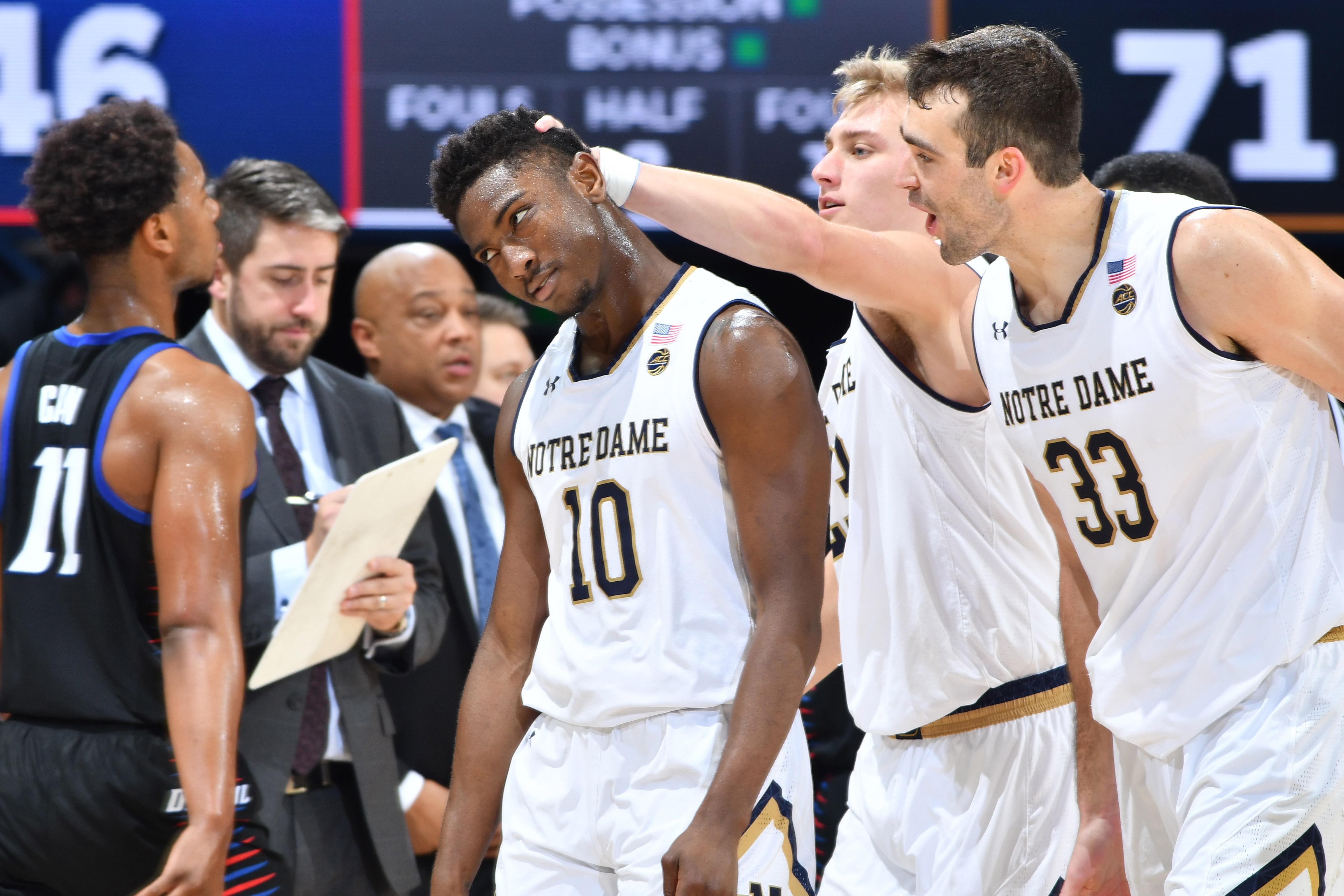 NCAA Basketball: DePaul at Notre Dame