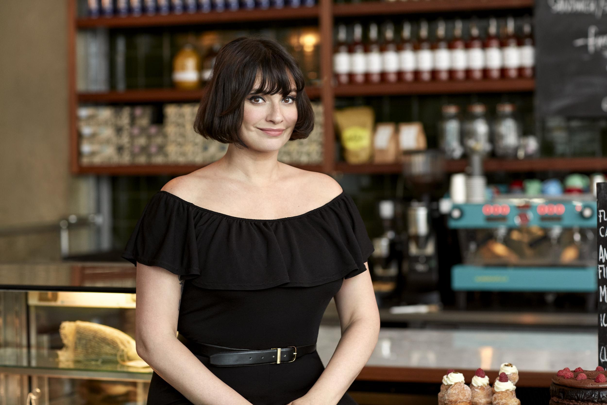 Gizzi Erskine, Slow cookbook author, left Hackney restaurant Mare Street Market three months ago