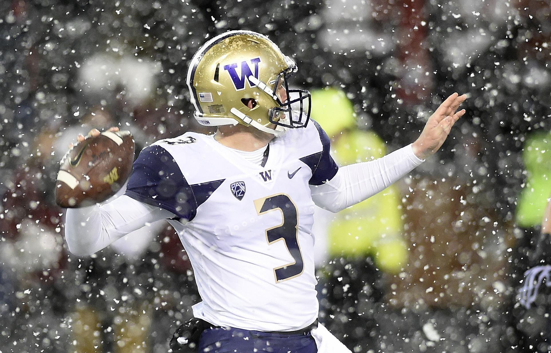 NCAA Football: Washington at Washington State