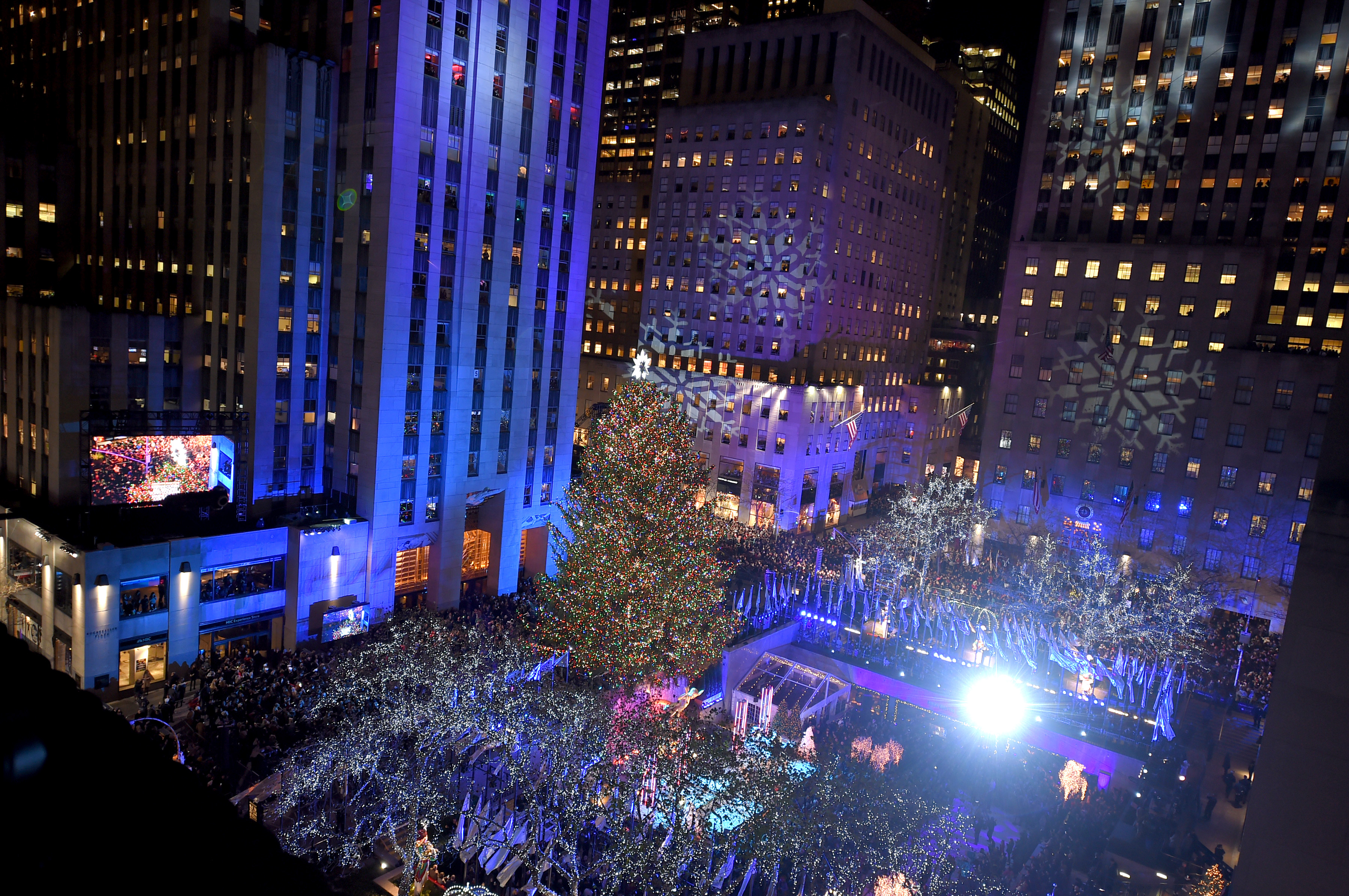85th Rockefeller Center Christmas Tree Lighting Ceremony