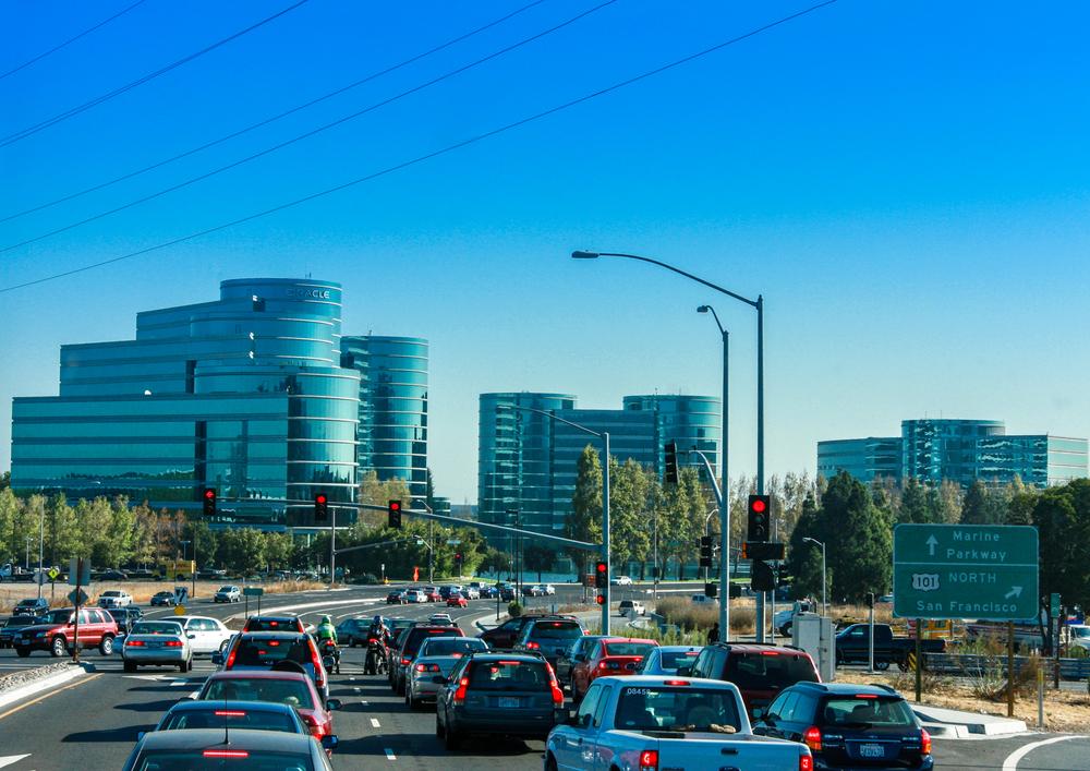 Traffic in Redwood City