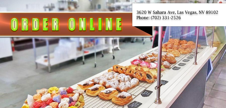 Order Great Pastries At The Best Bakeries In Las Vegas