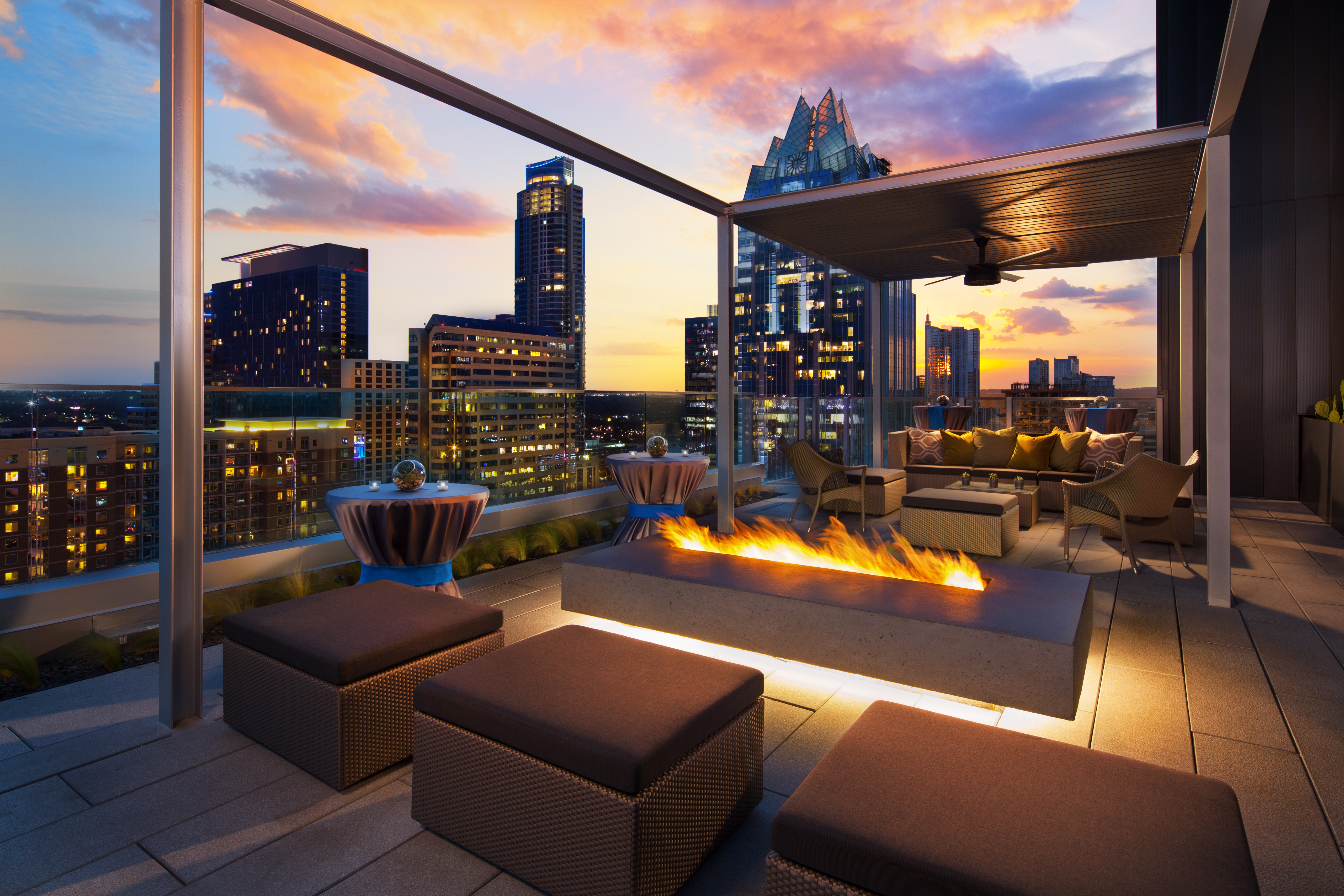 Best Rooftop Bars And Restaurants At Austin Hotels Eater