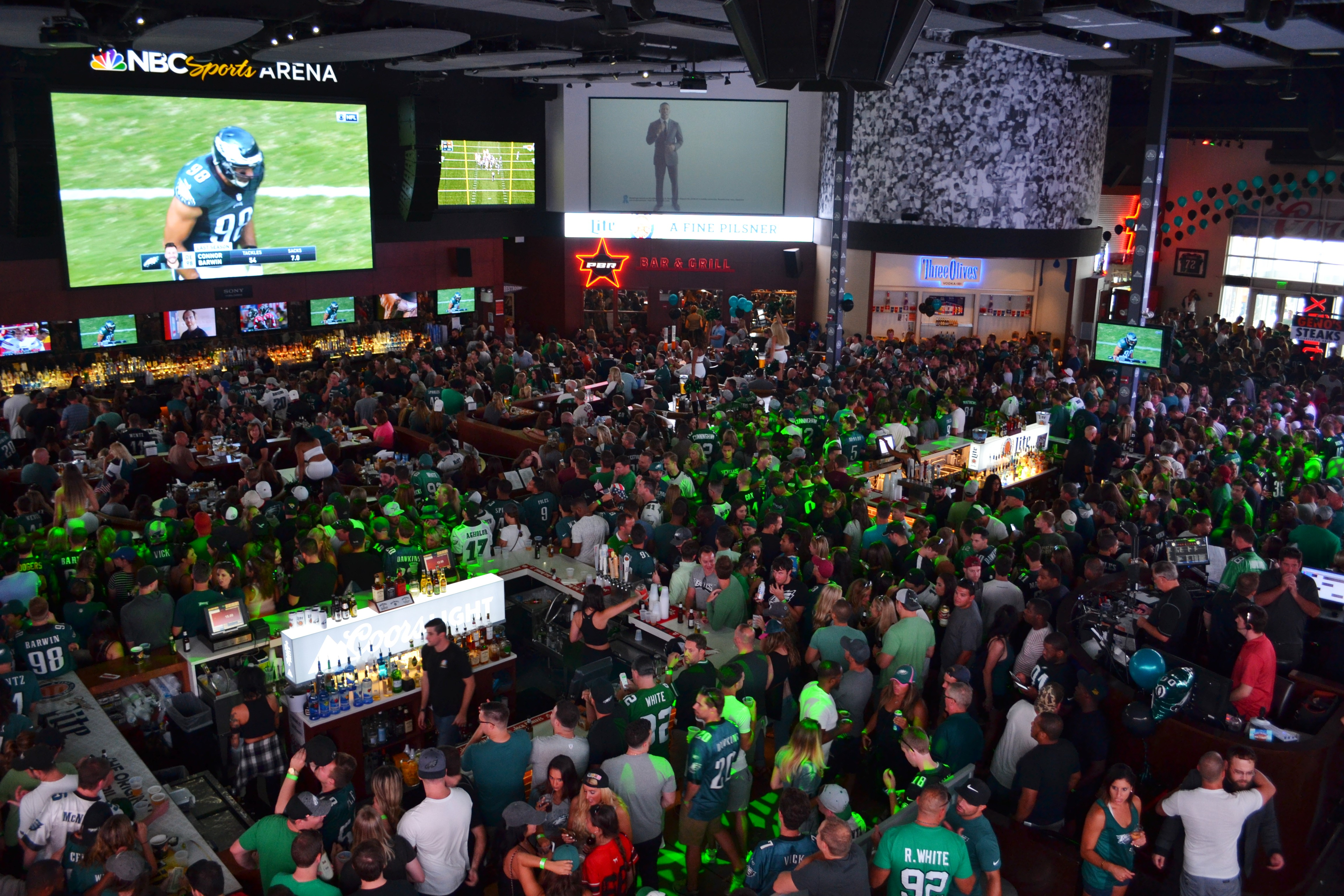 21 Sports Bars for Watching the Philadelphia Eagles