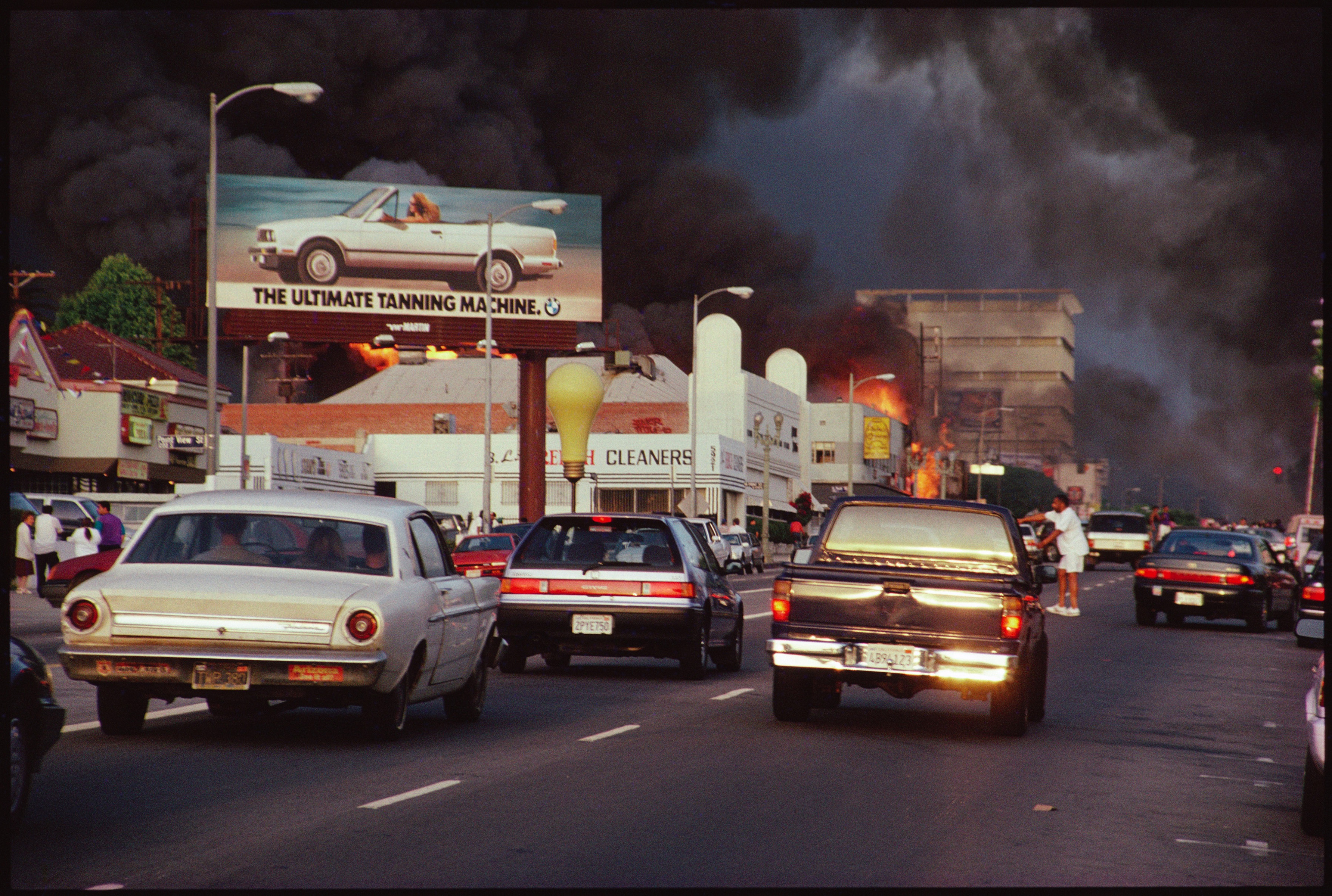 Mapping The 1992 La Riots Curbed La