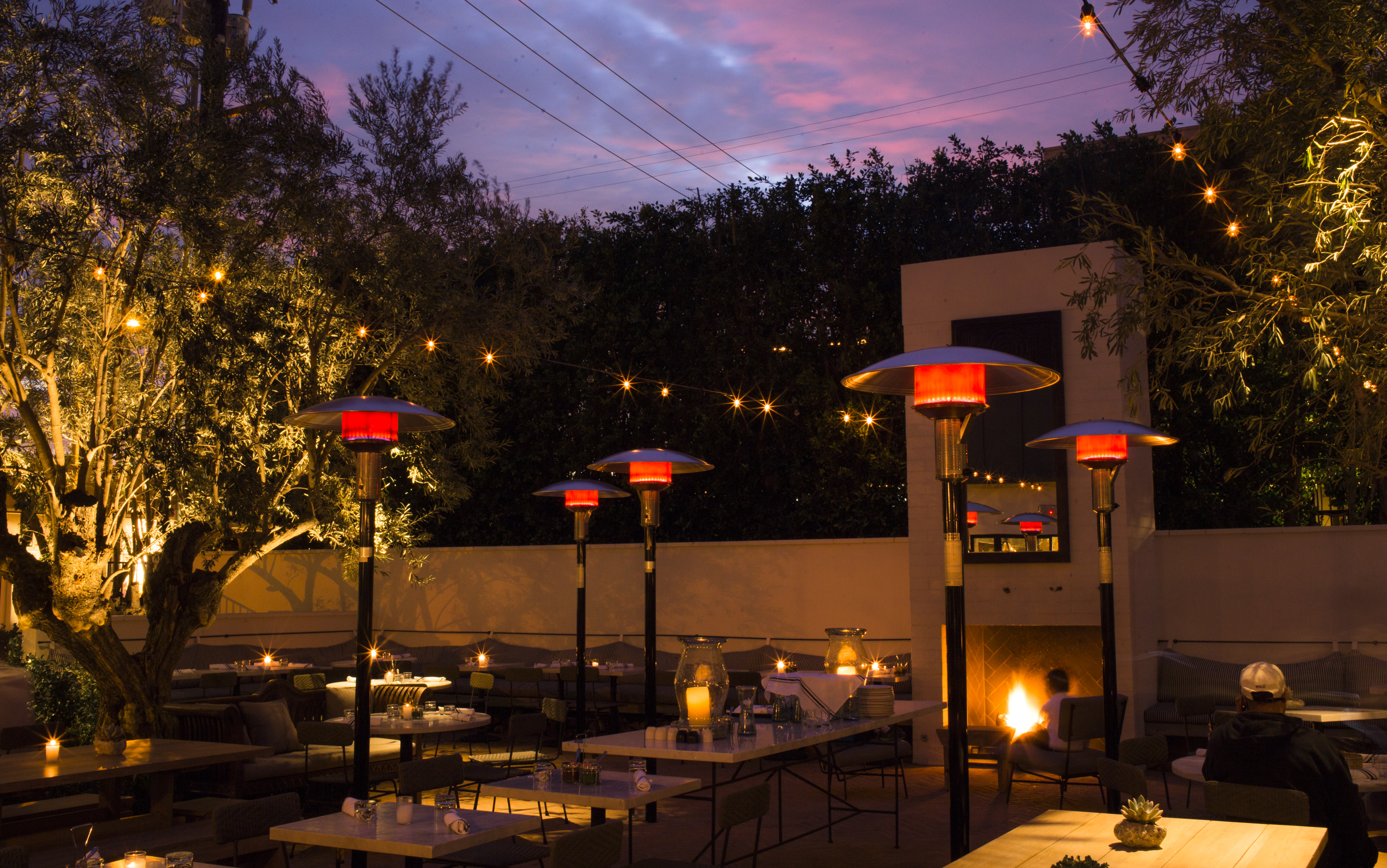 Outdoor Dining Restaurants In Los Angeles Spring 2018
