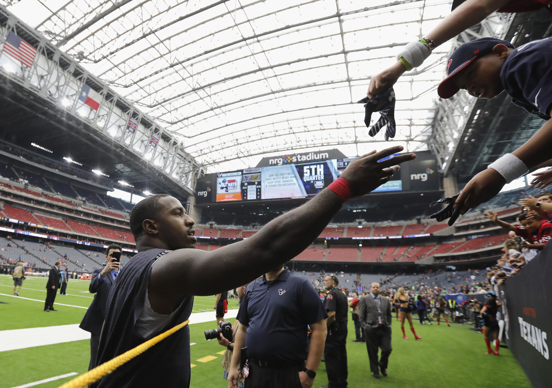 Cleveland Browns v Houston Texan