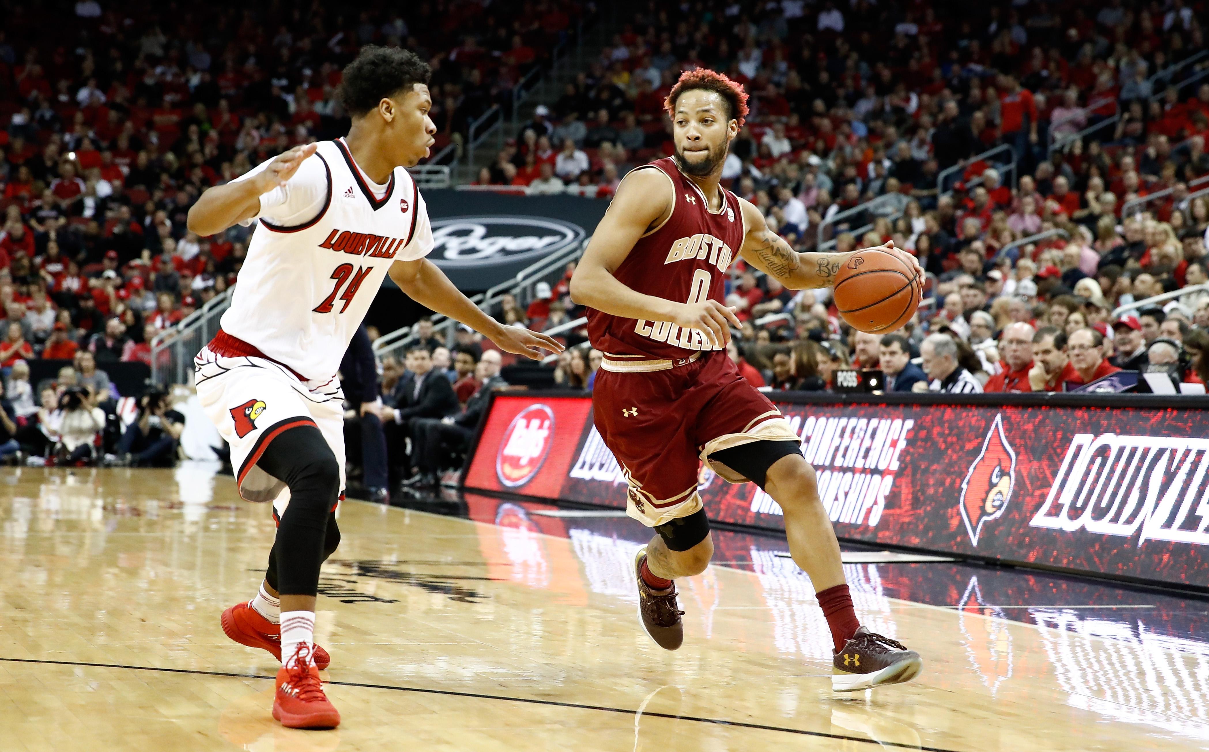 boston college men's basketball - bc interruption