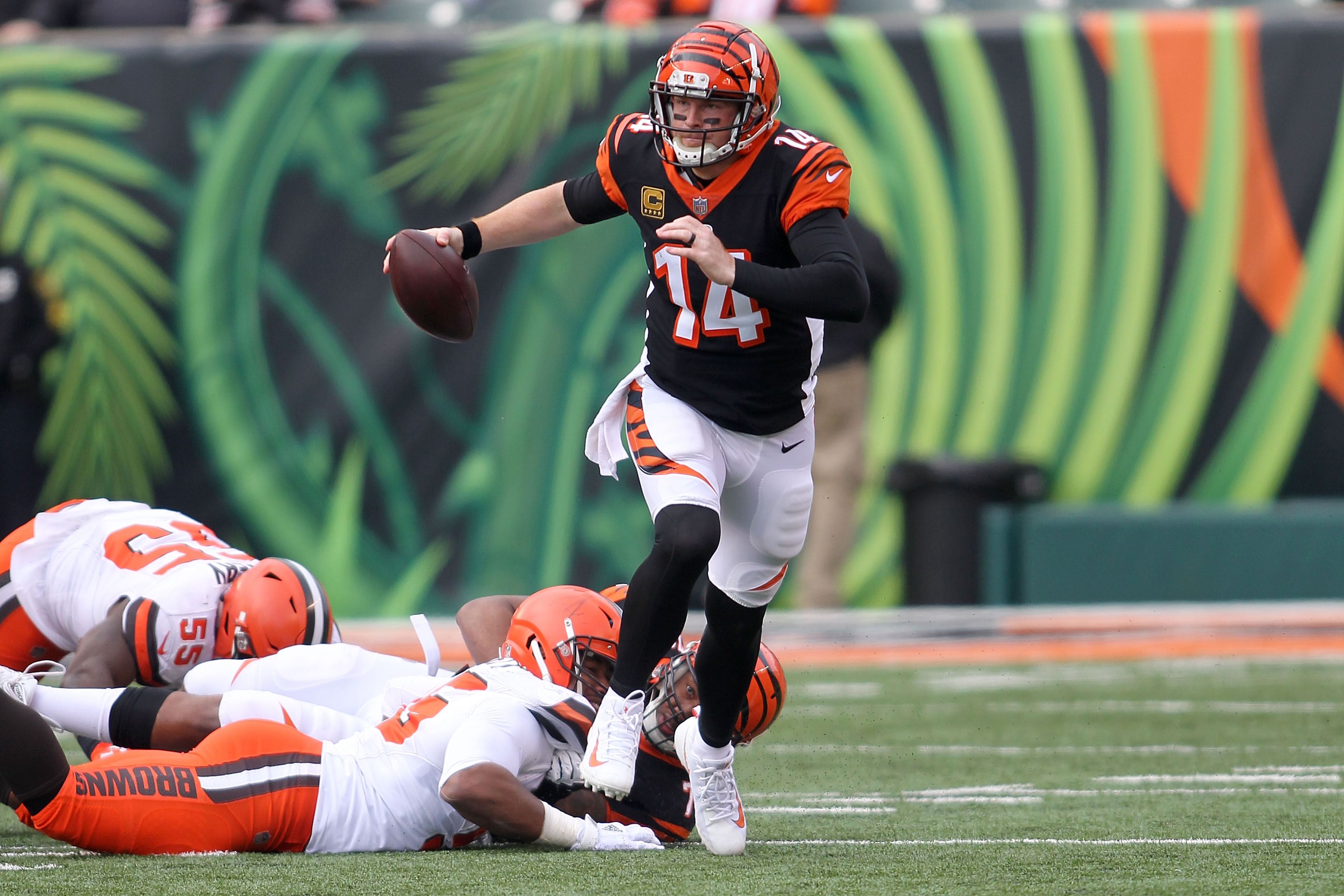 d483c9671f9 Bengals QB Andy Dalton has successful thumb surgery  will be ready for  offseason practices