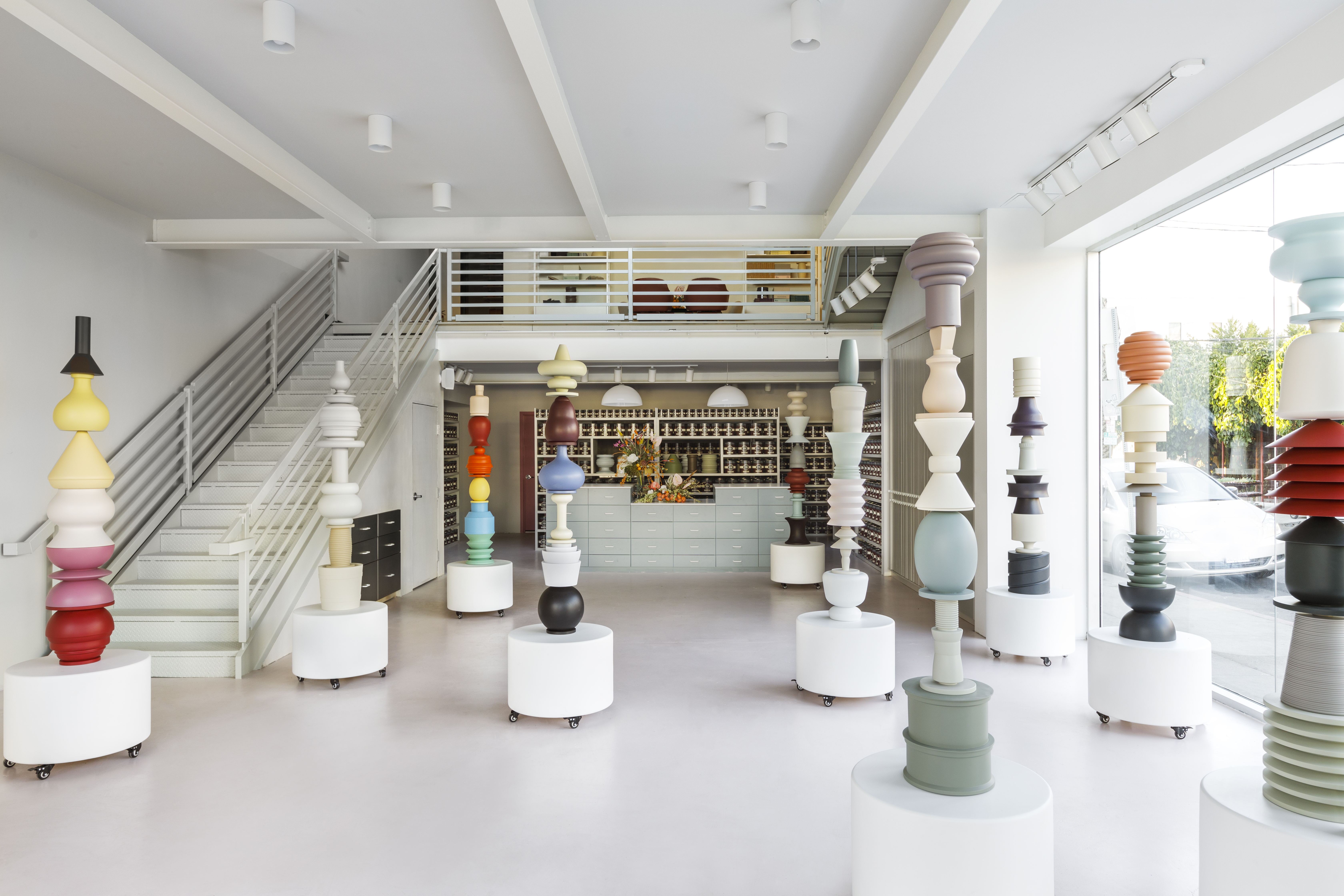 Farrow & Ball's new showroom in LA, the company's second in the city, wants to change how people think of paint stores.