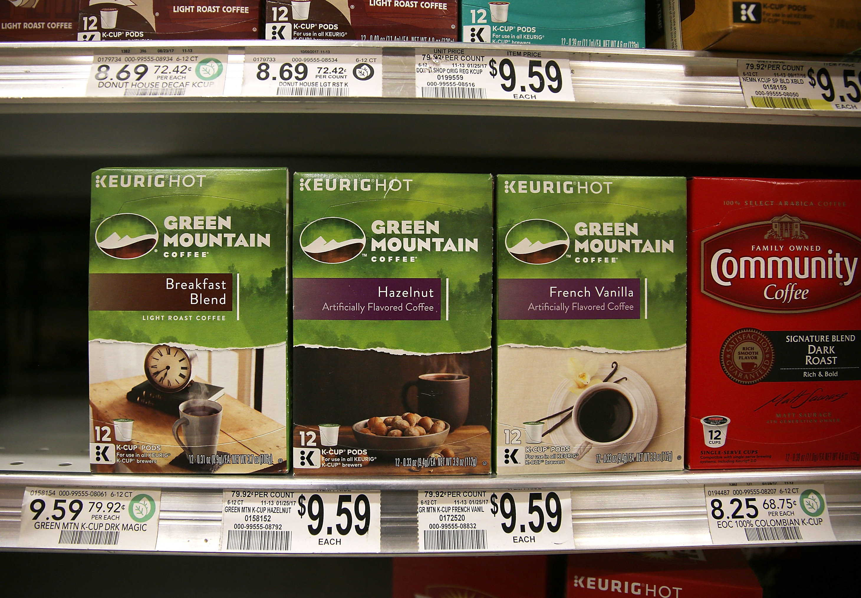 Kuerig Green Mountain To Buy Dr. Pepper Snapple