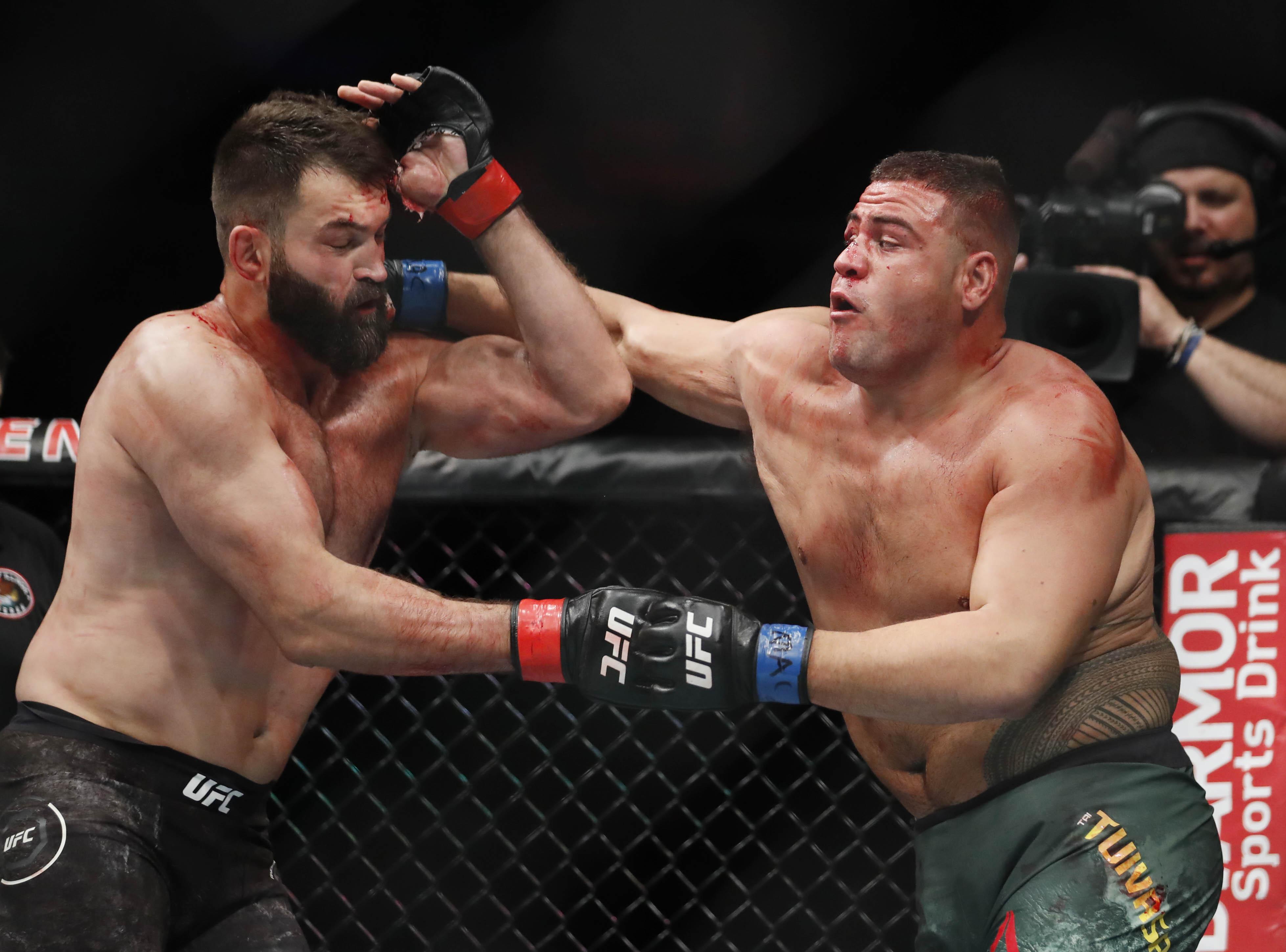 MMA: UFC 225-Arlovski vs Tuivasa
