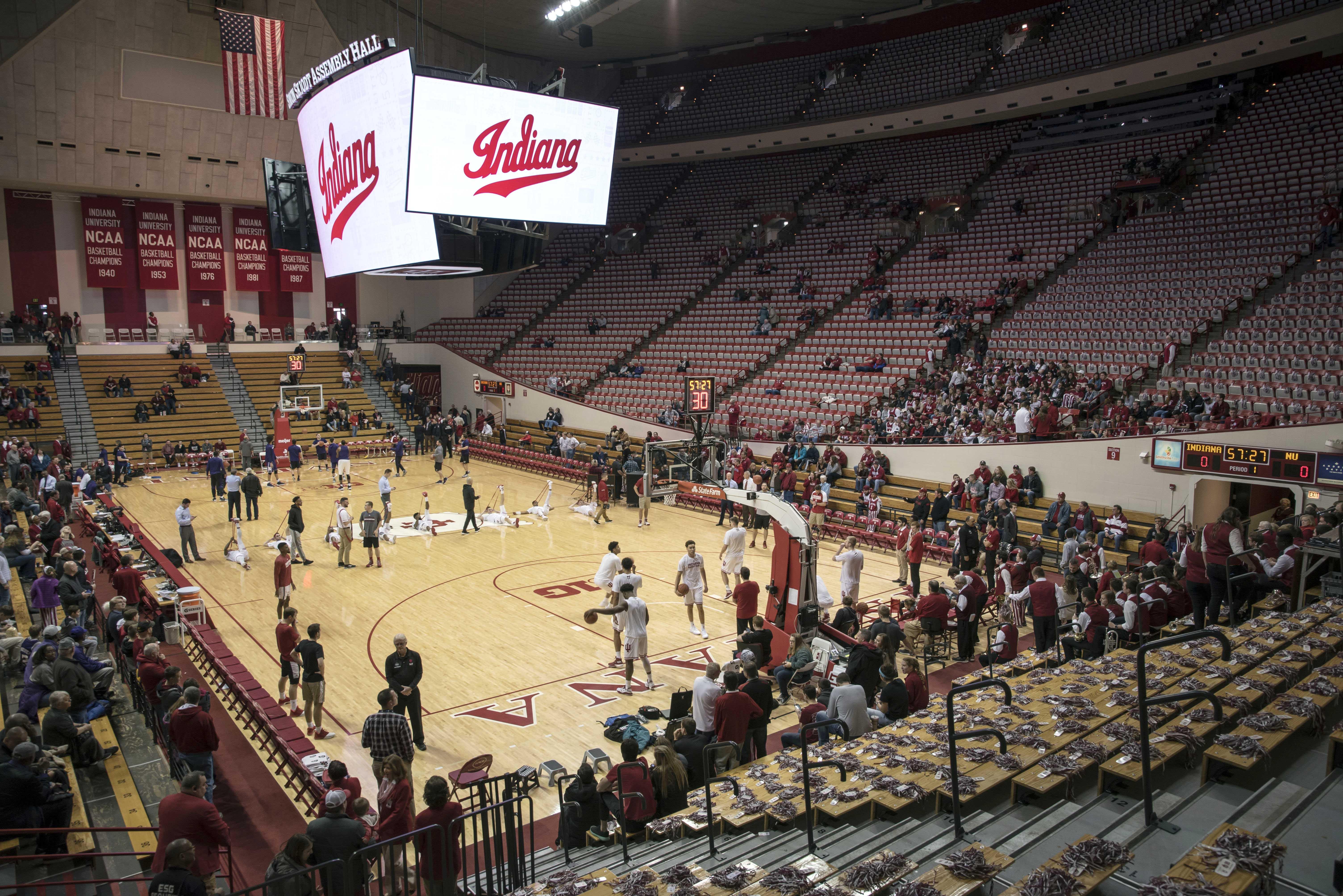 NCAA Basketball: Northwestern at Indiana