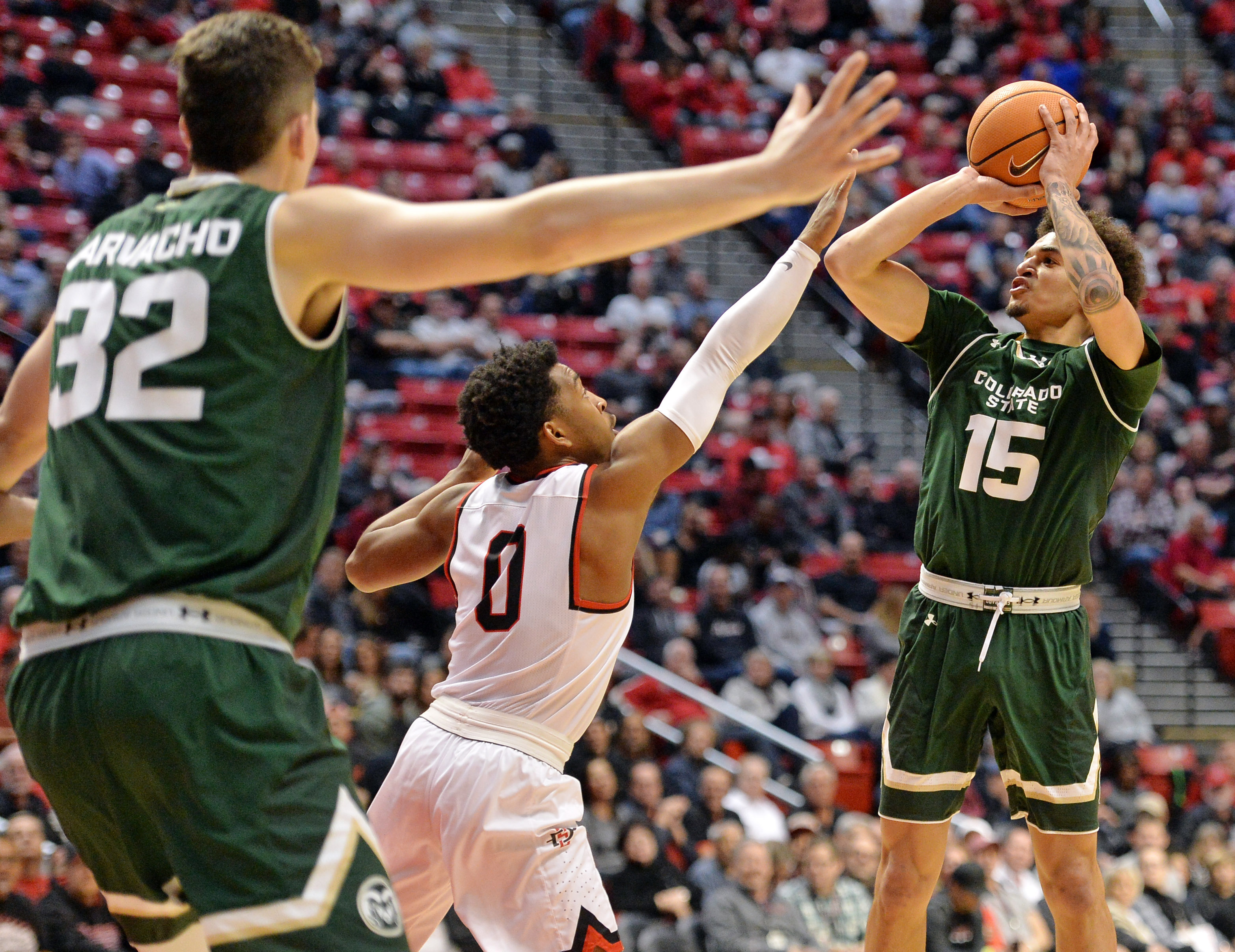 NCAA Basketball: Colorado State at San Diego State