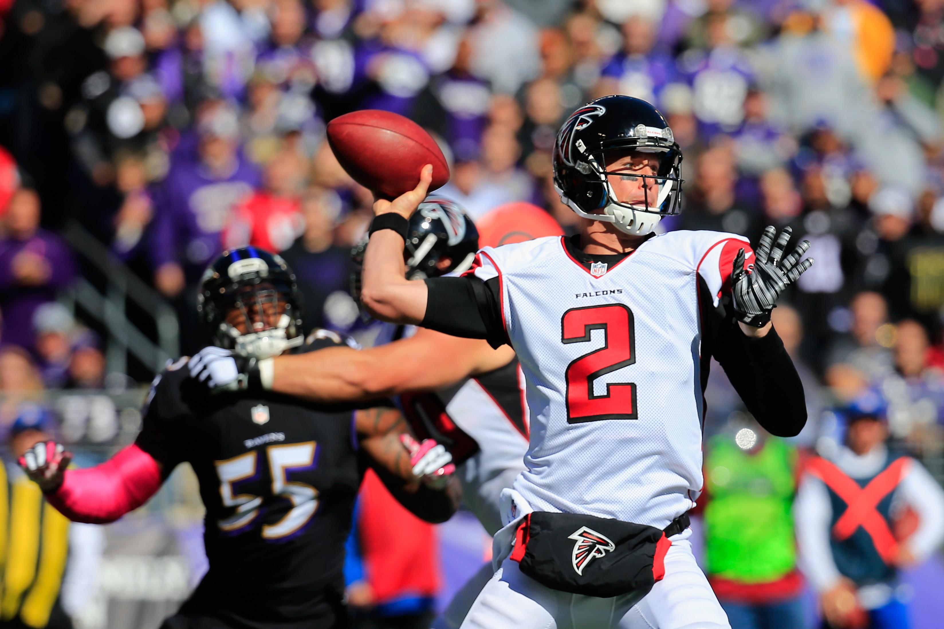 Atlanta Falcons v Baltimore Ravens