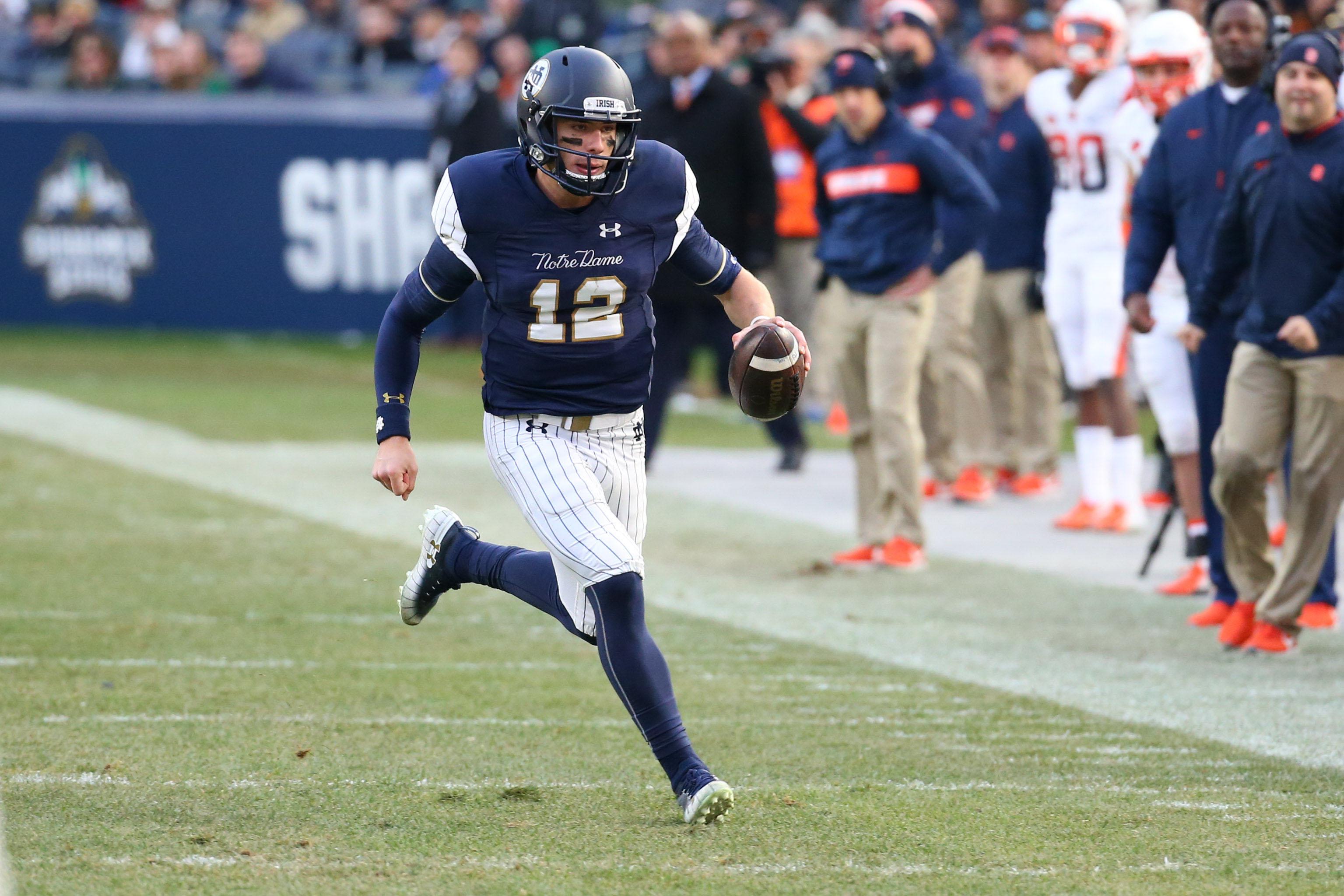 NCAA Football: Syracuse at Notre Dame