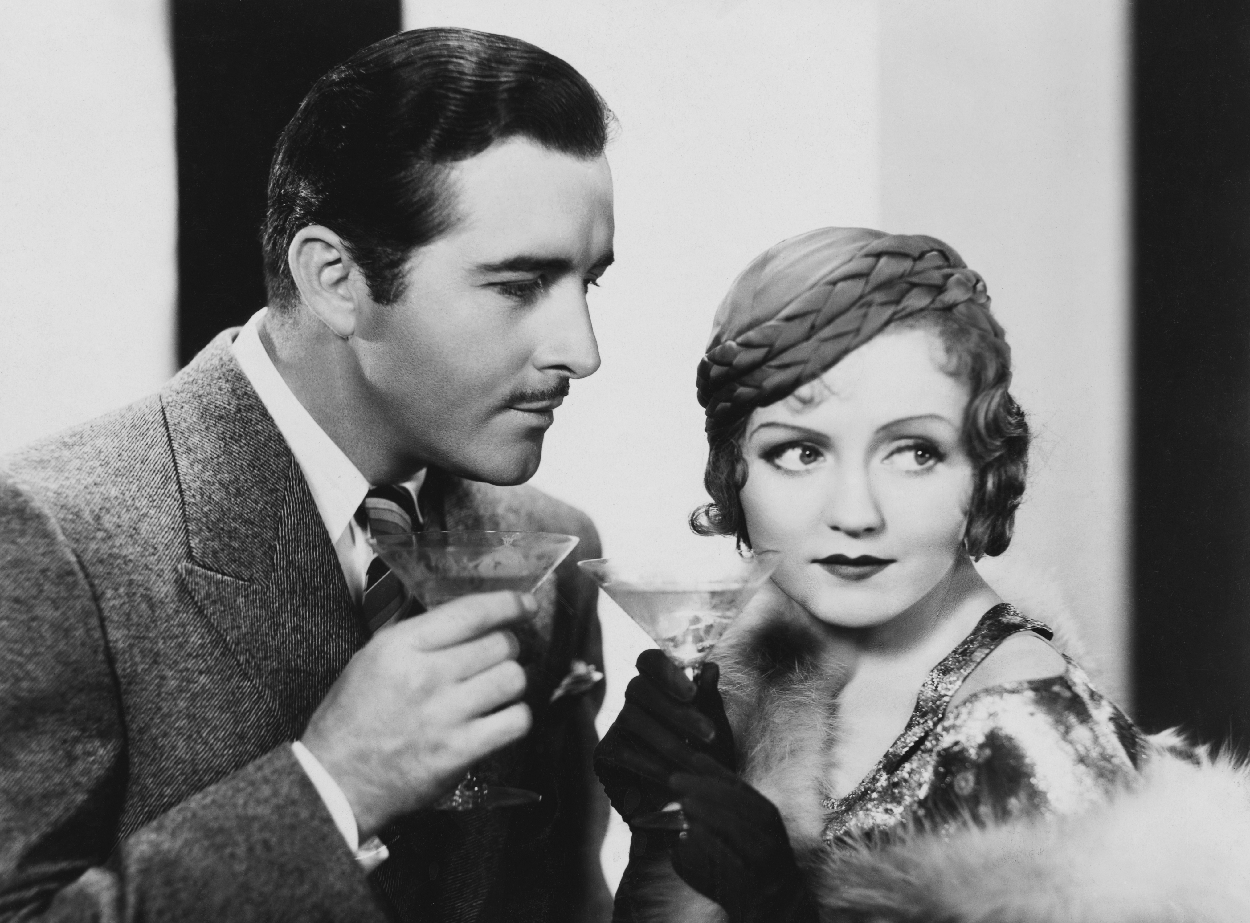 John Boles as Paul Vanderkill and Nancy Carroll as Madeleine McGonegal in Child of Manhattan (1933).