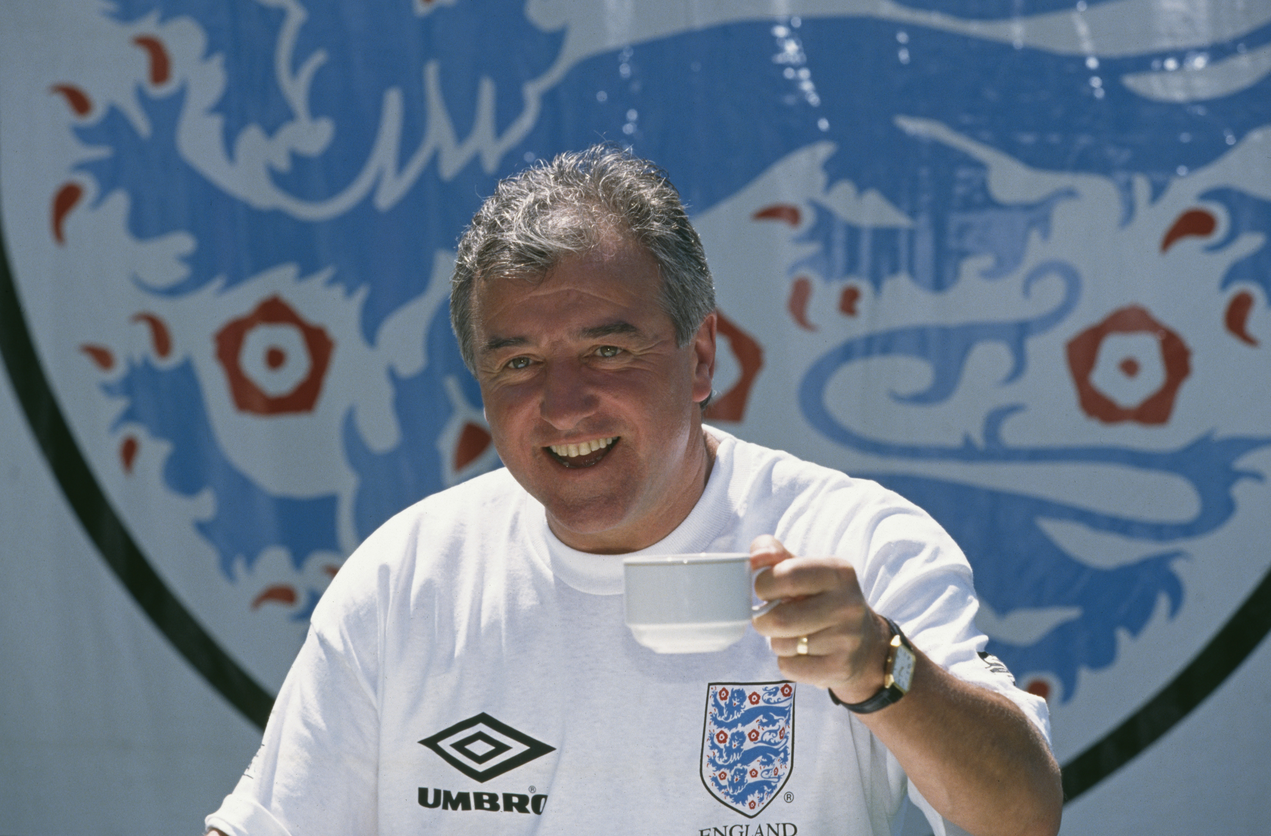 Venables At England Training Session