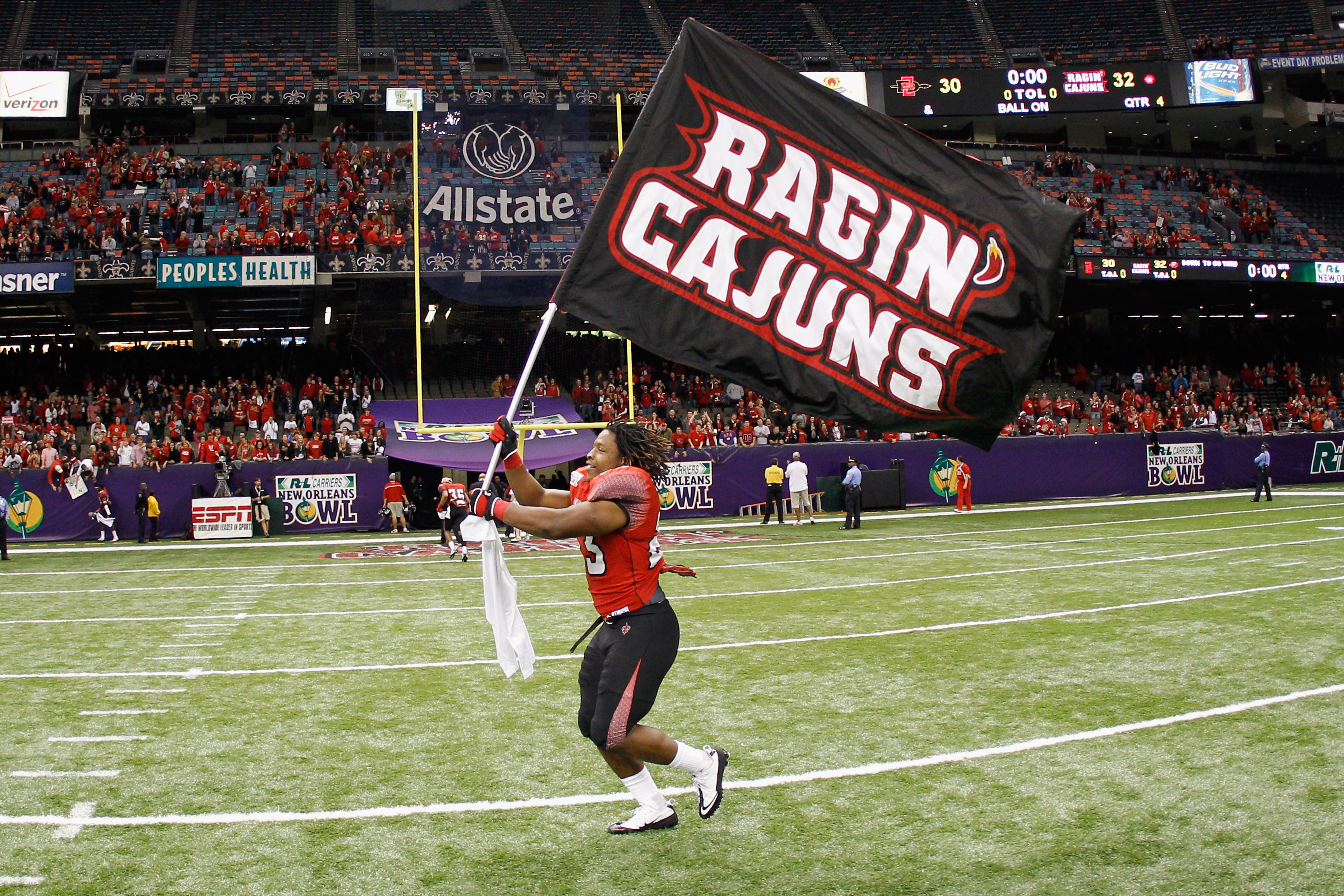 R&L Carriers New Orleans Bowl - San Diego State v Louisiana-Lafayette
