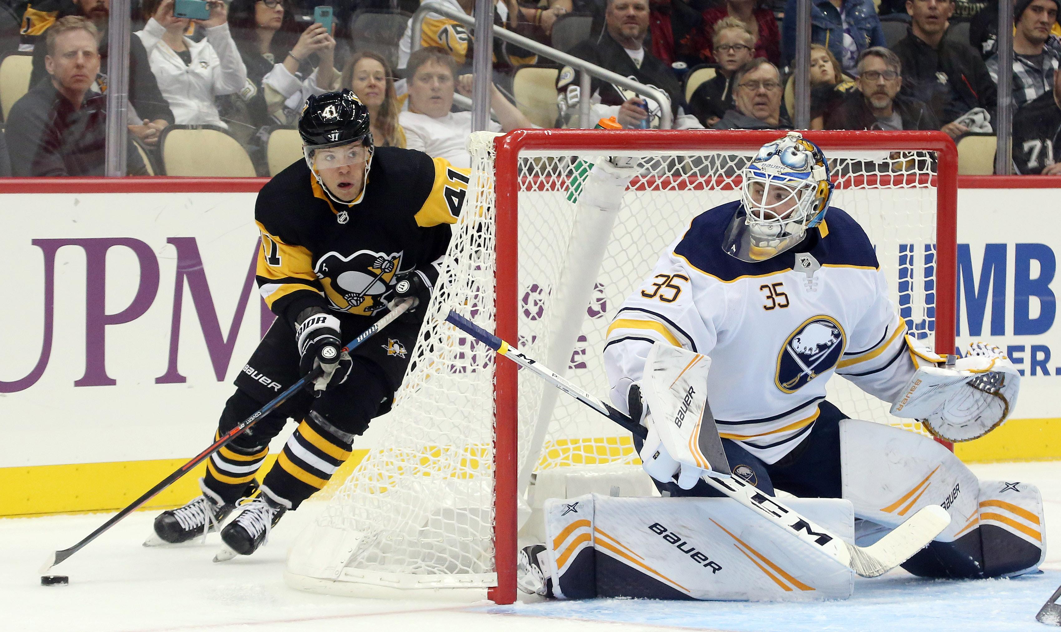 NHL: Preseason-Buffalo Sabres at Pittsburgh Penguins